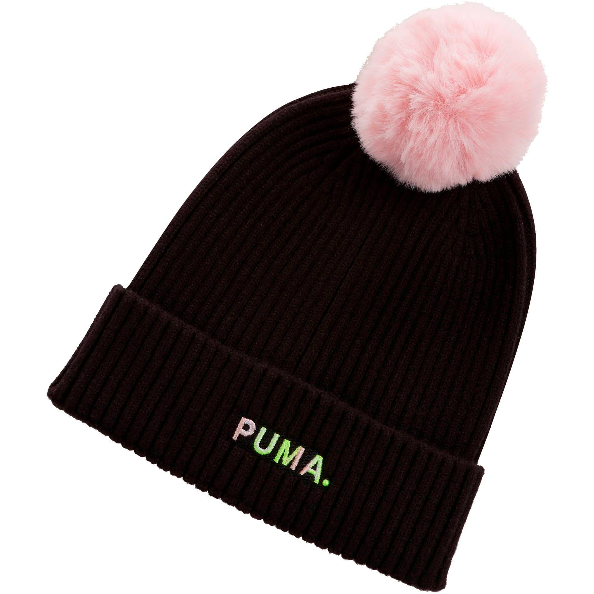 Miniatura 1 de Gorro de lana Shift para mujer, Puma Black-Bridal Rose, mediano