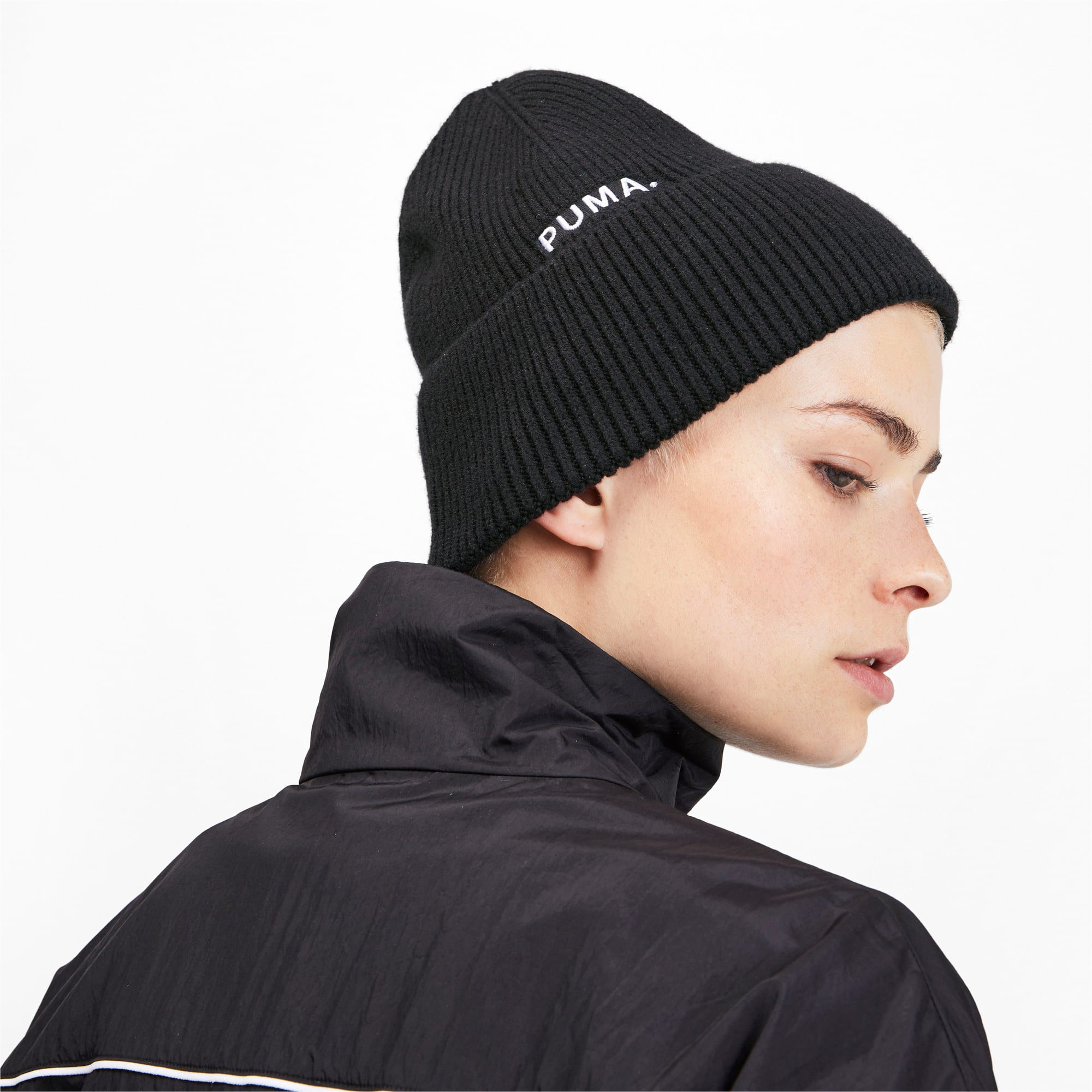 Miniatura 2 de Gorro de lana Hybrid Fit Trend, Puma Black, mediano