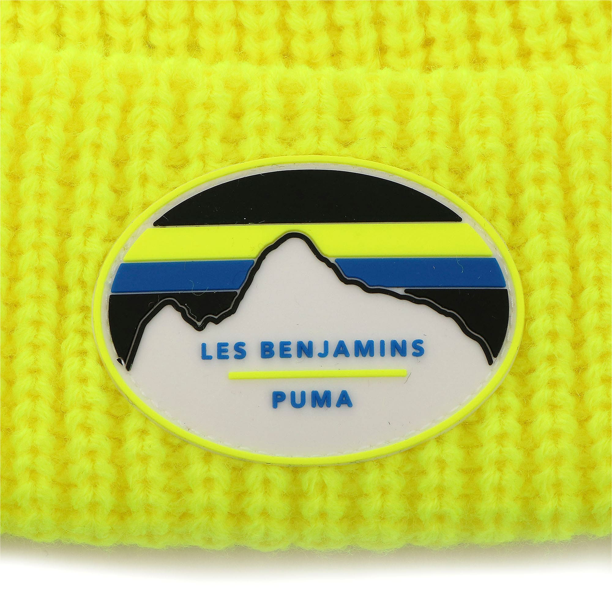 Thumbnail 4 of PUMA x LES BENJAMINS ビーニー, Safety Yellow, medium-JPN