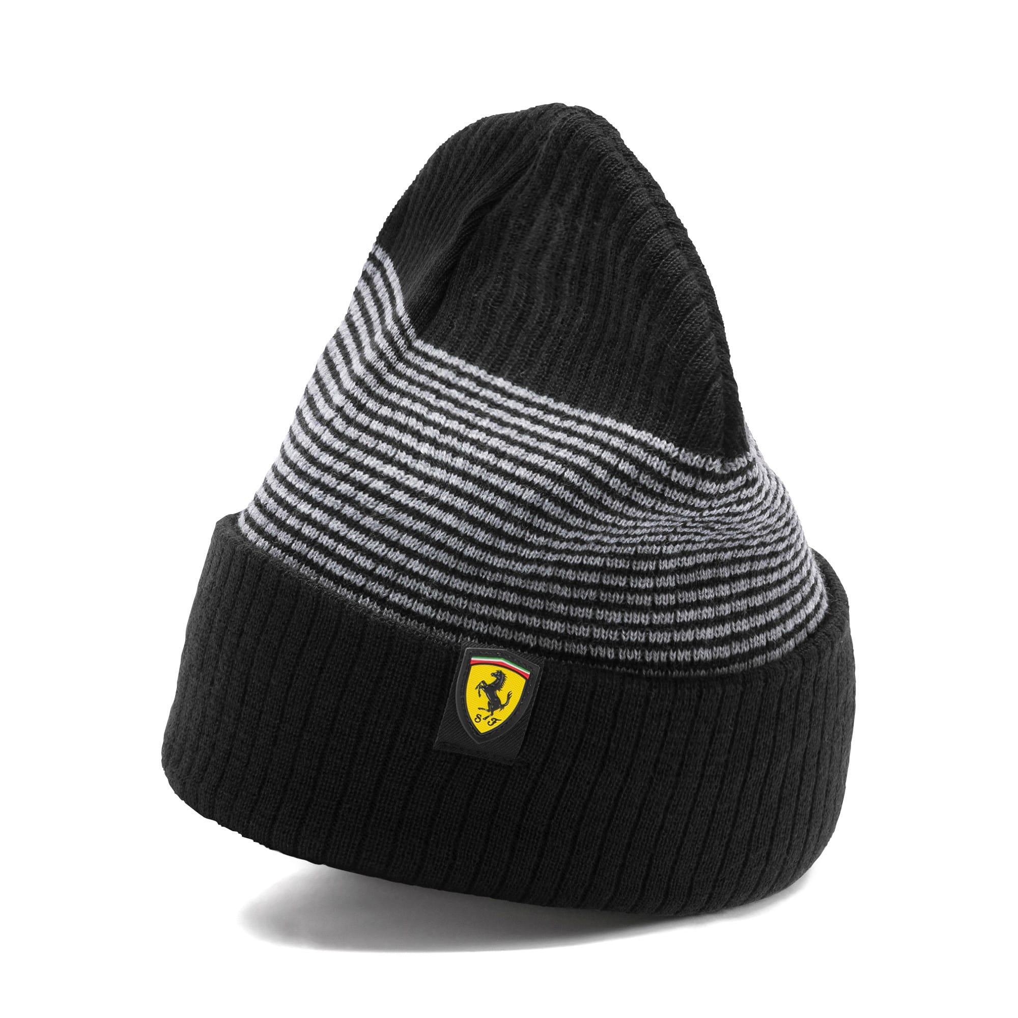 Miniatura 1 de Gorro de lana Scuderia Ferrari para fanáticos, Puma Black, mediano