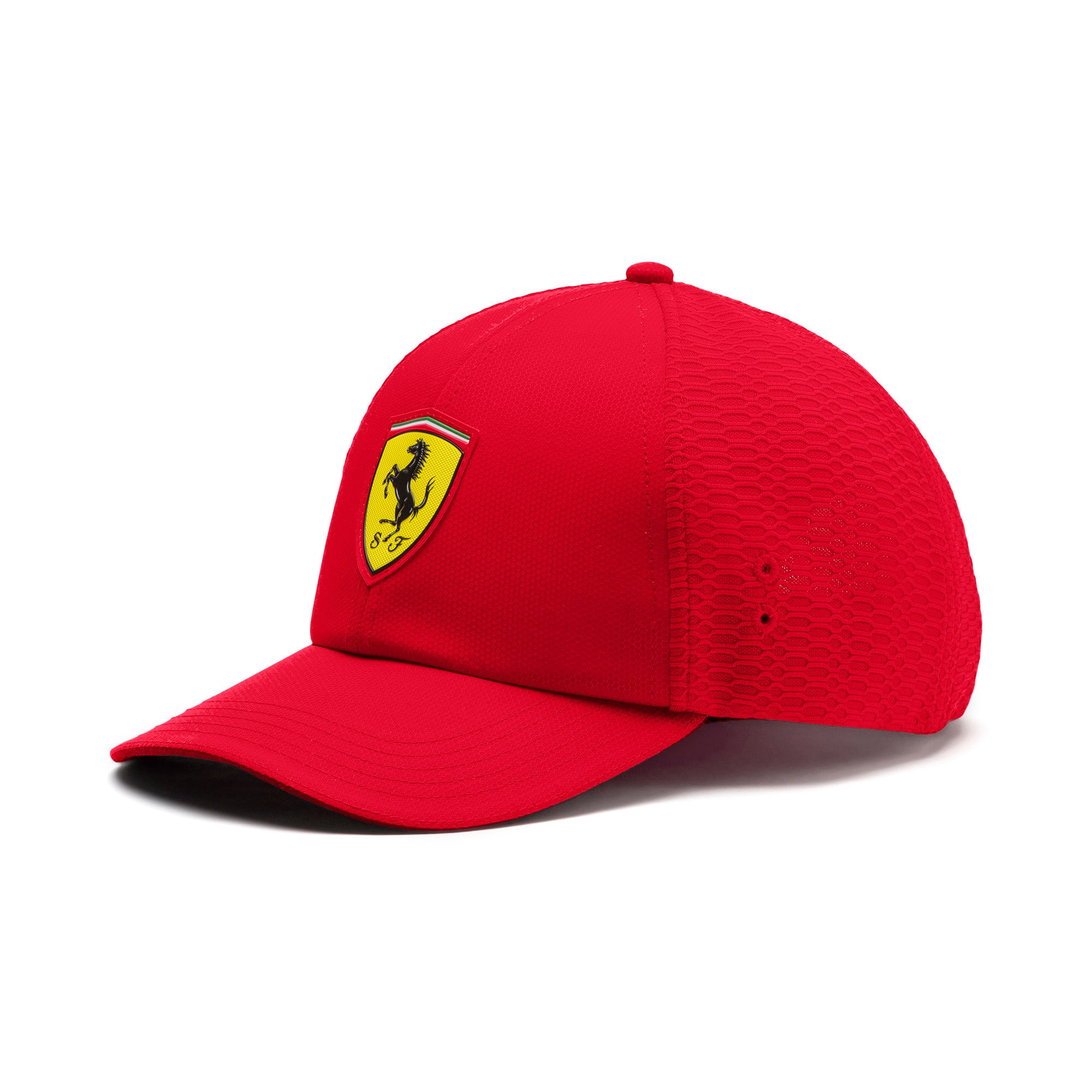 Thumbnail 1 of Ferrari Fanwear Trucker Cap, Rosso Corsa, medium-IND