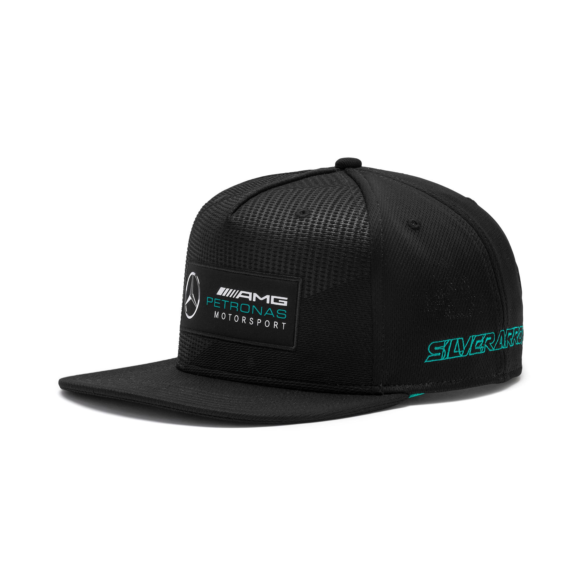 Thumbnail 1 of Mercedes AMG Petronas Motorsport Street Cap, Puma Black, medium