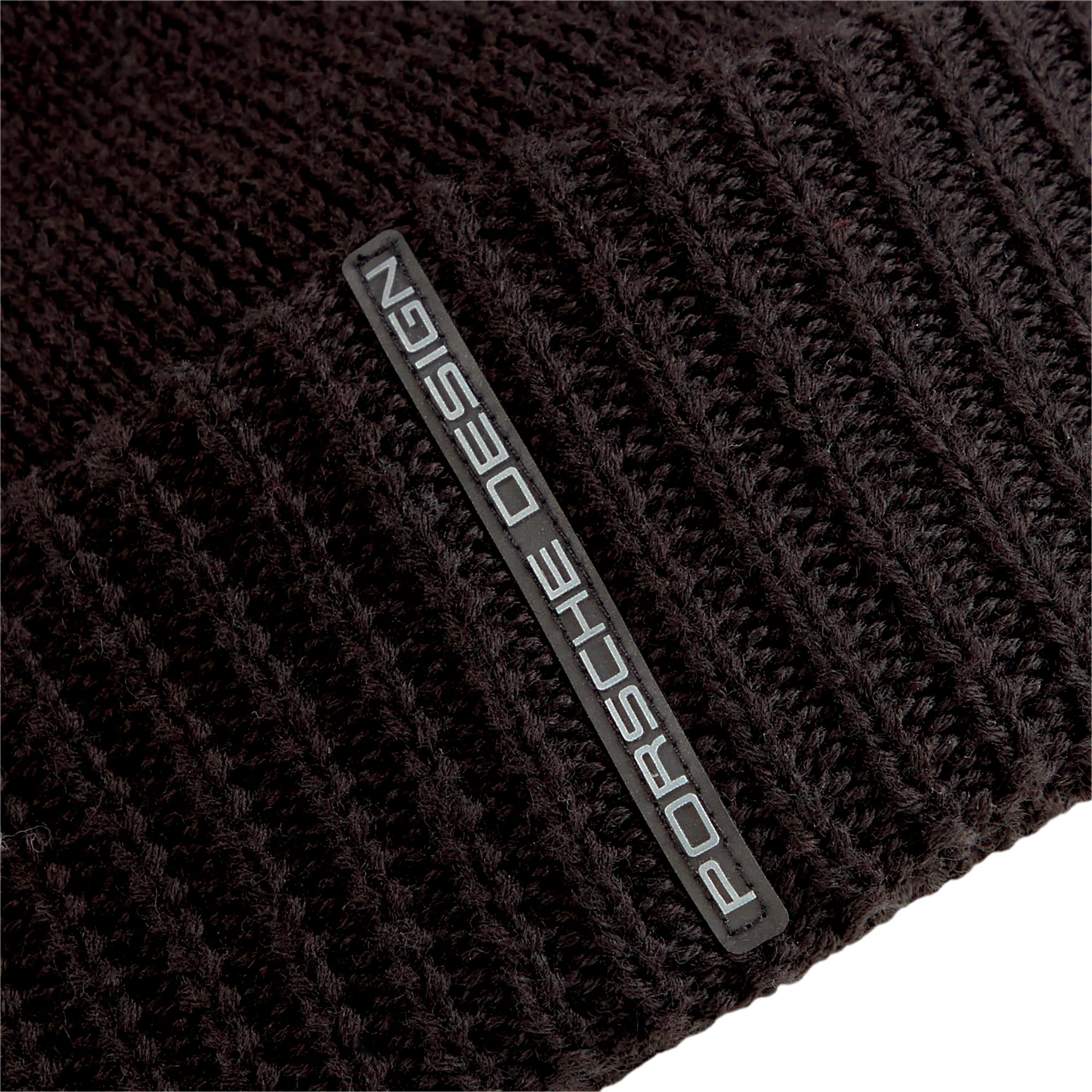 Thumbnail 4 of Porsche Design Knit Beanie, Puma Black, medium