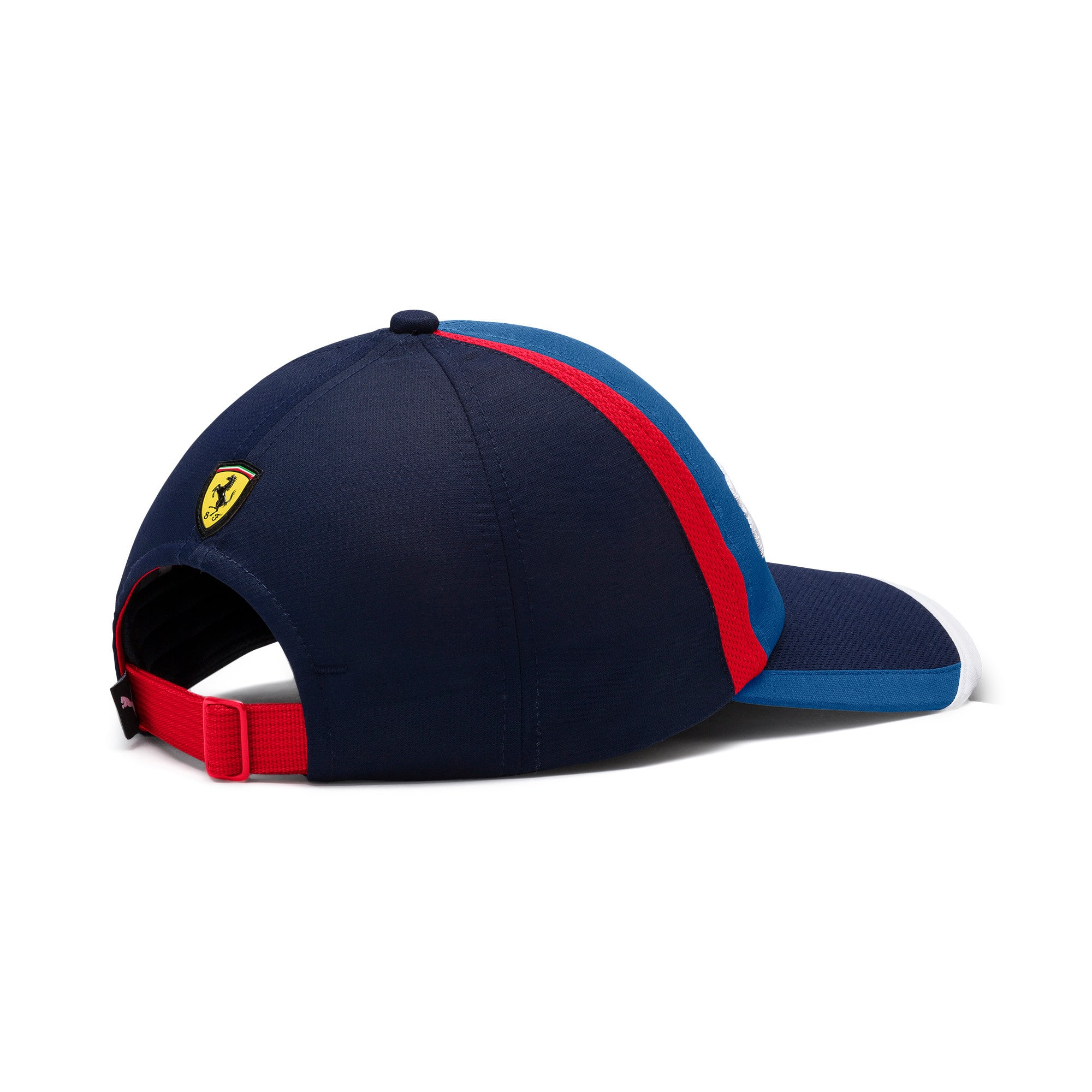 Thumbnail 3 of Ferrari Fanwear Cap, Galaxy Blue-Rosso Corsa, medium