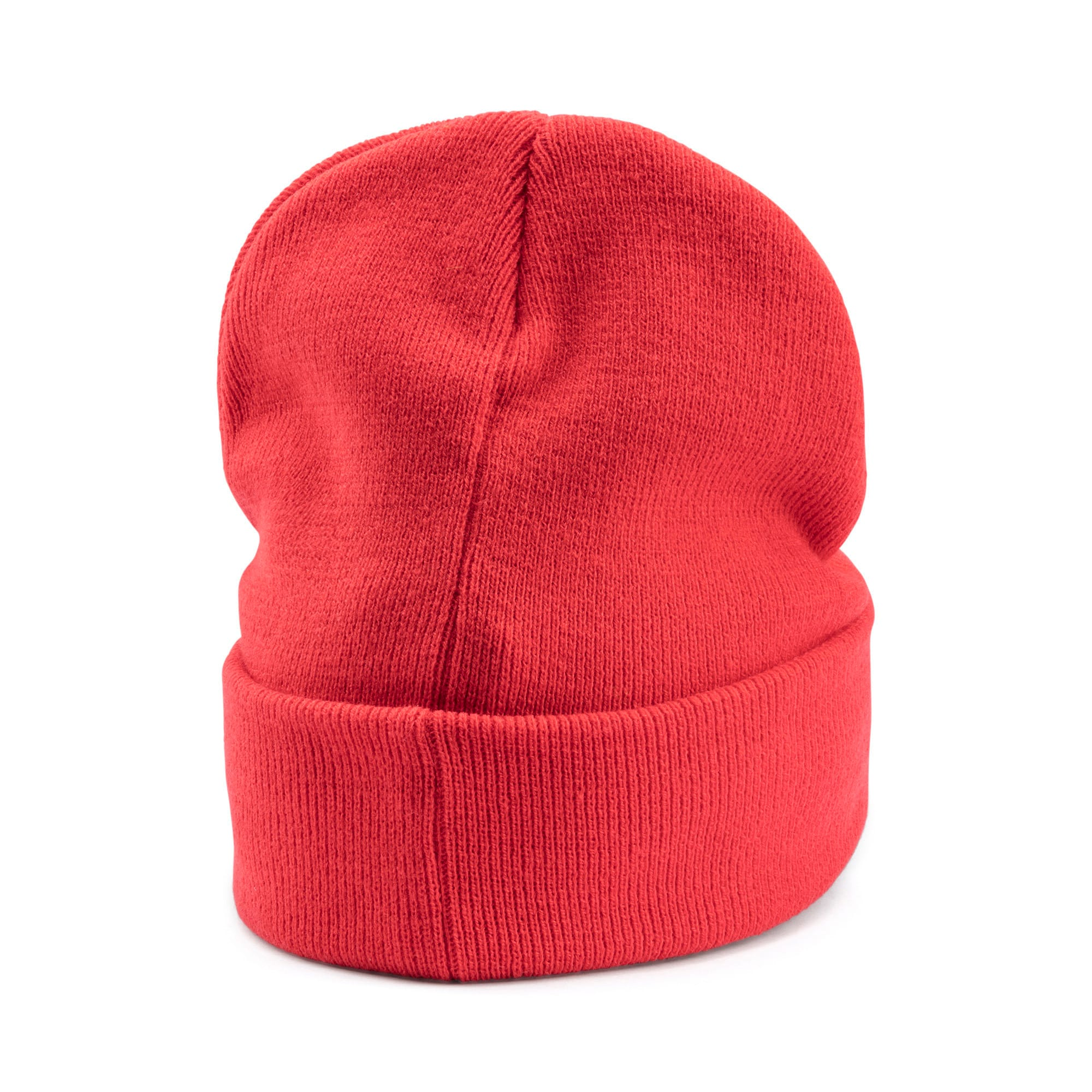 Thumbnail 4 of PUMA x KARL LAGERFELD Beanie, High Risk Red, medium