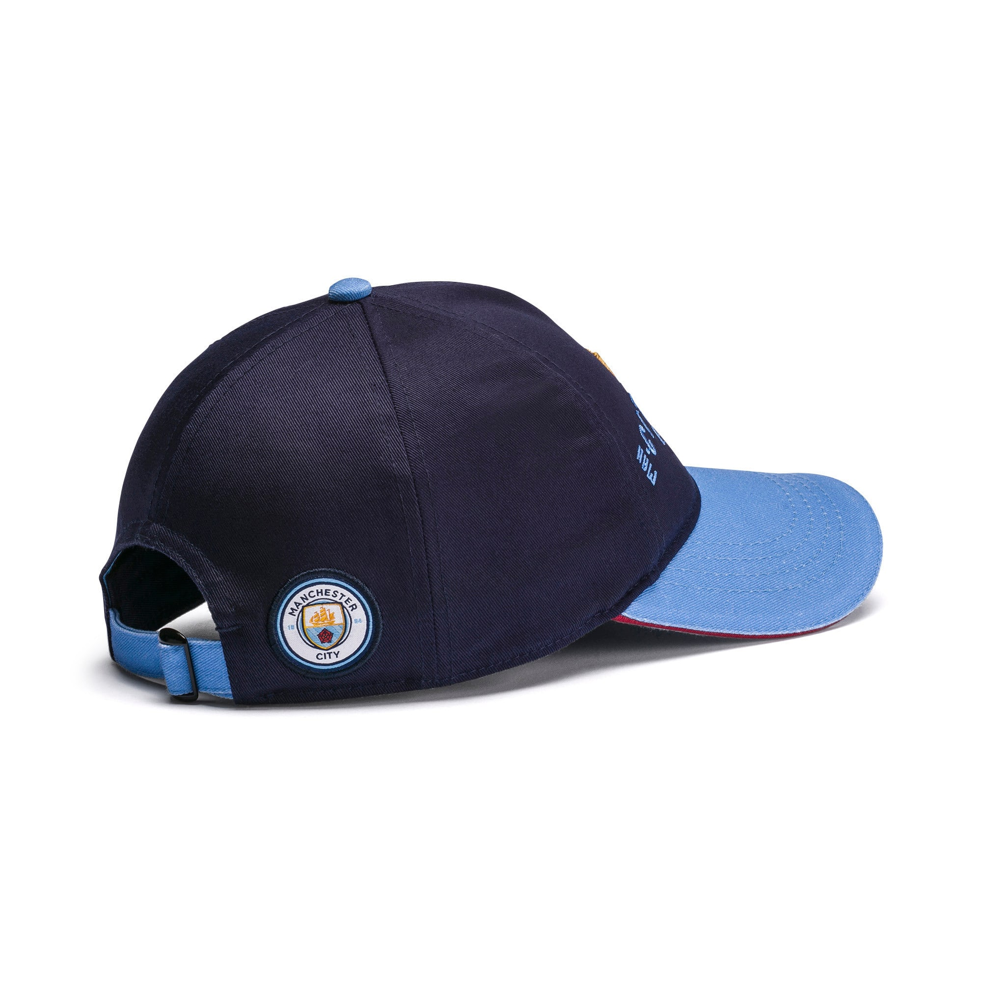 Thumbnail 2 of Manchester City 125 Year Anniversary Cap, Peacoat-Team Light Blue, medium