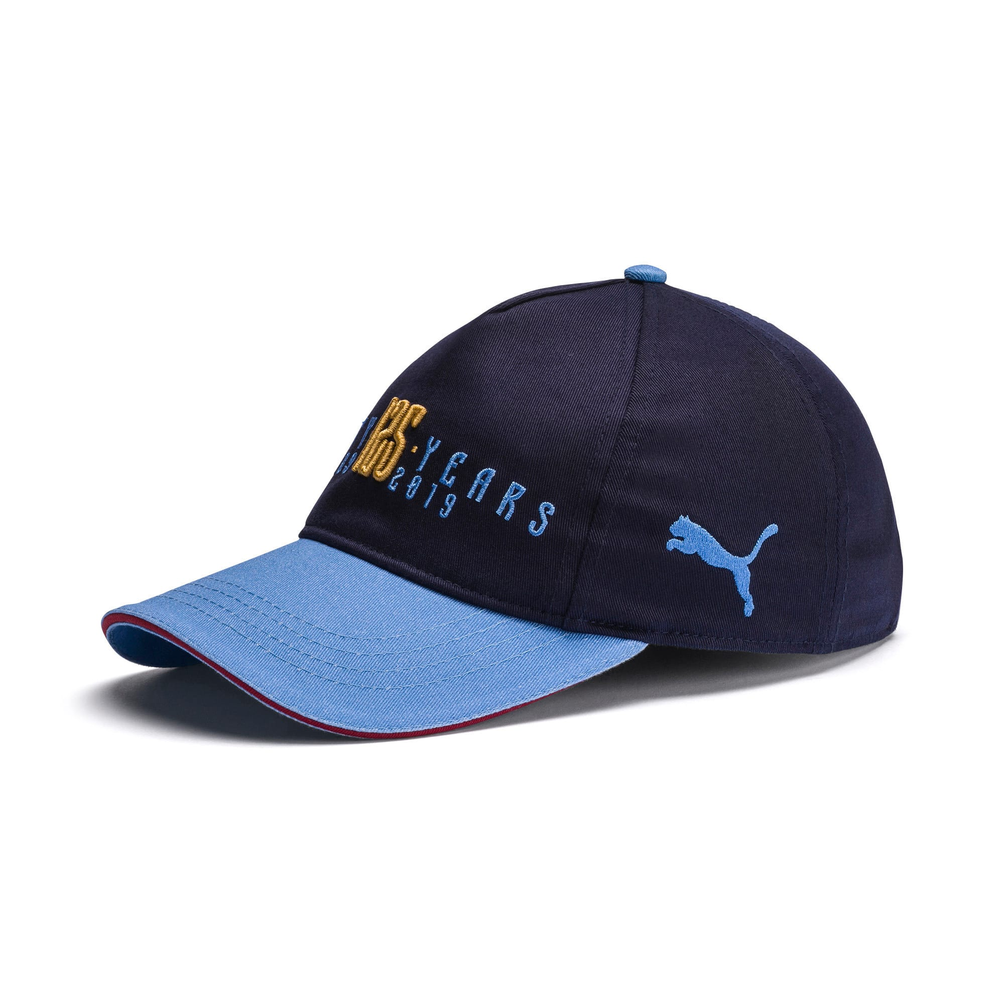 Thumbnail 1 of Manchester City 125 Year Anniversary Cap, Peacoat-Team Light Blue, medium