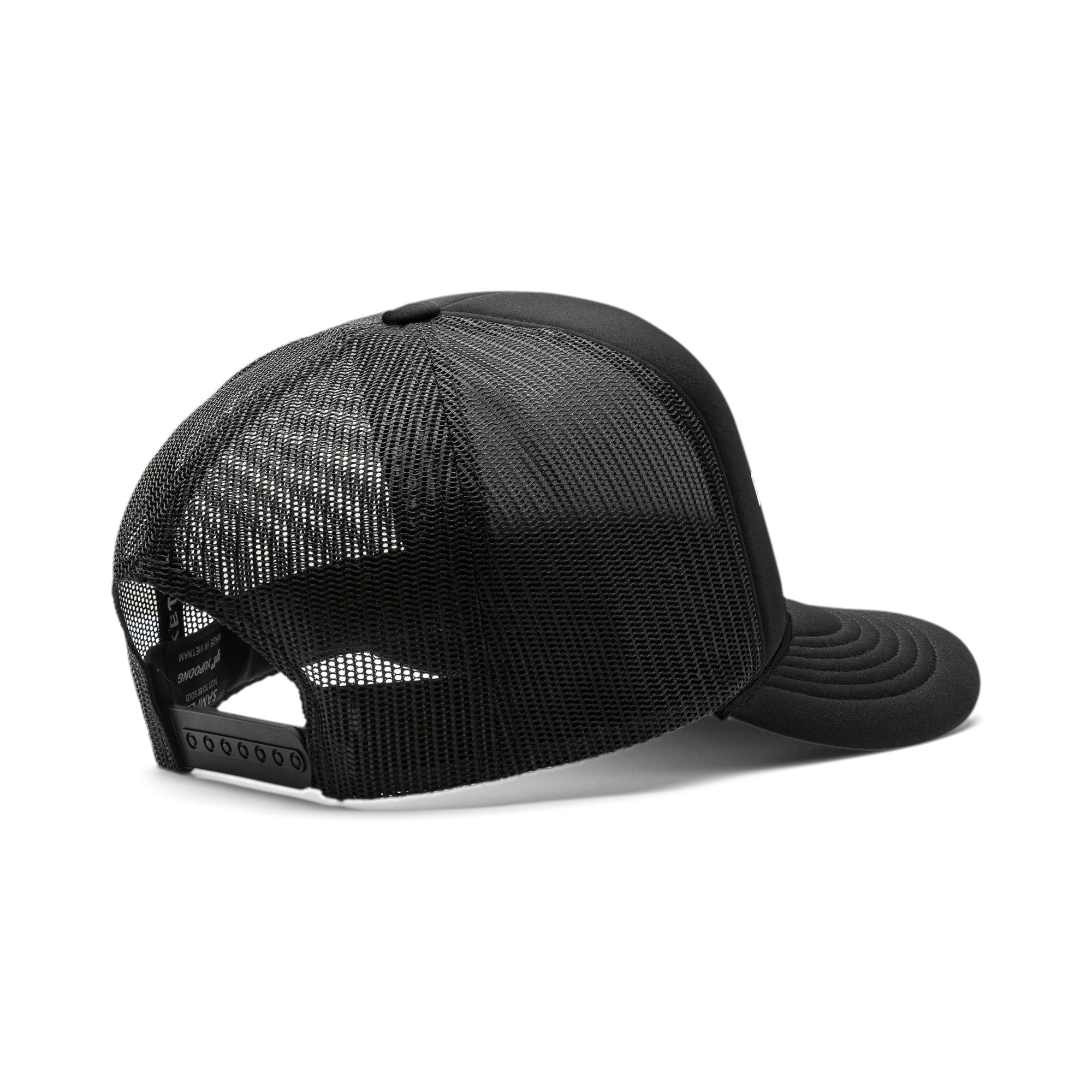 Thumbnail 2 of PUMA Basketball Flat Brim Cap, Puma Black, medium