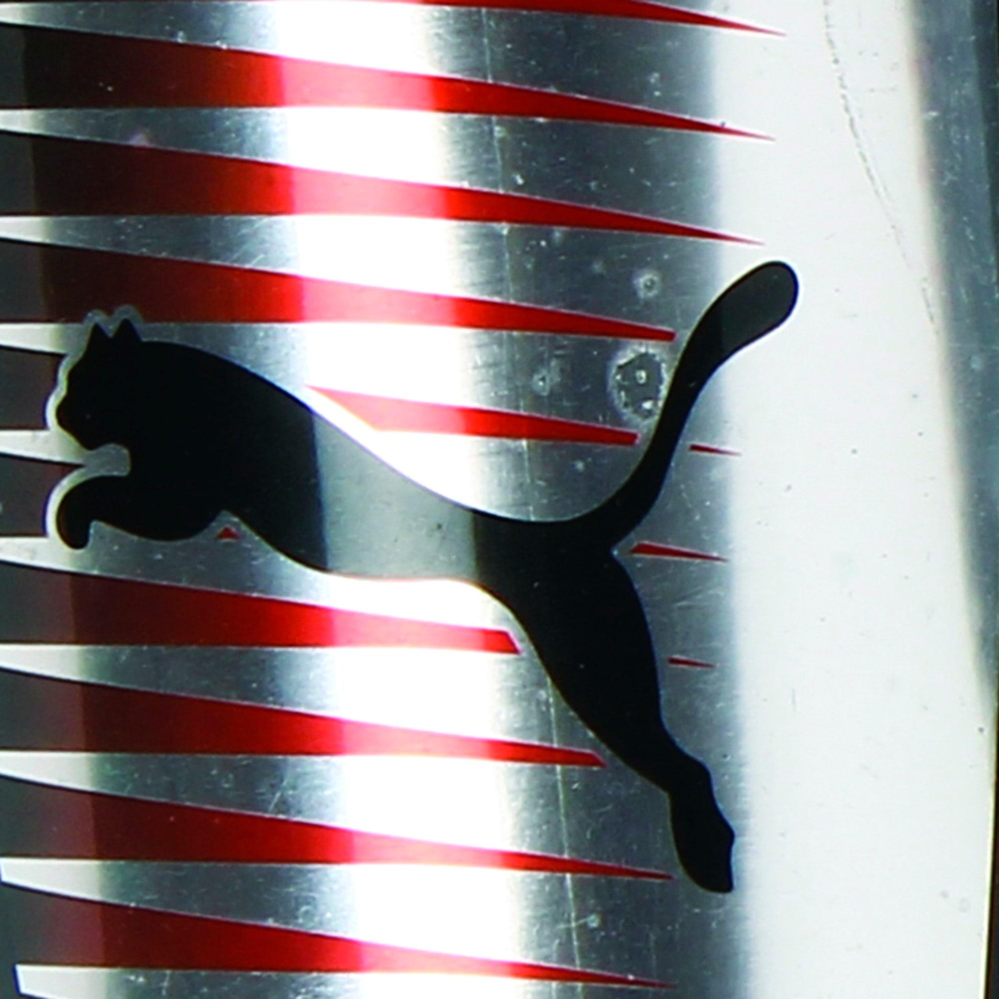 Thumbnail 3 of Football Chrome Guards, Silver-Red Blast-Puma Black, medium-IND