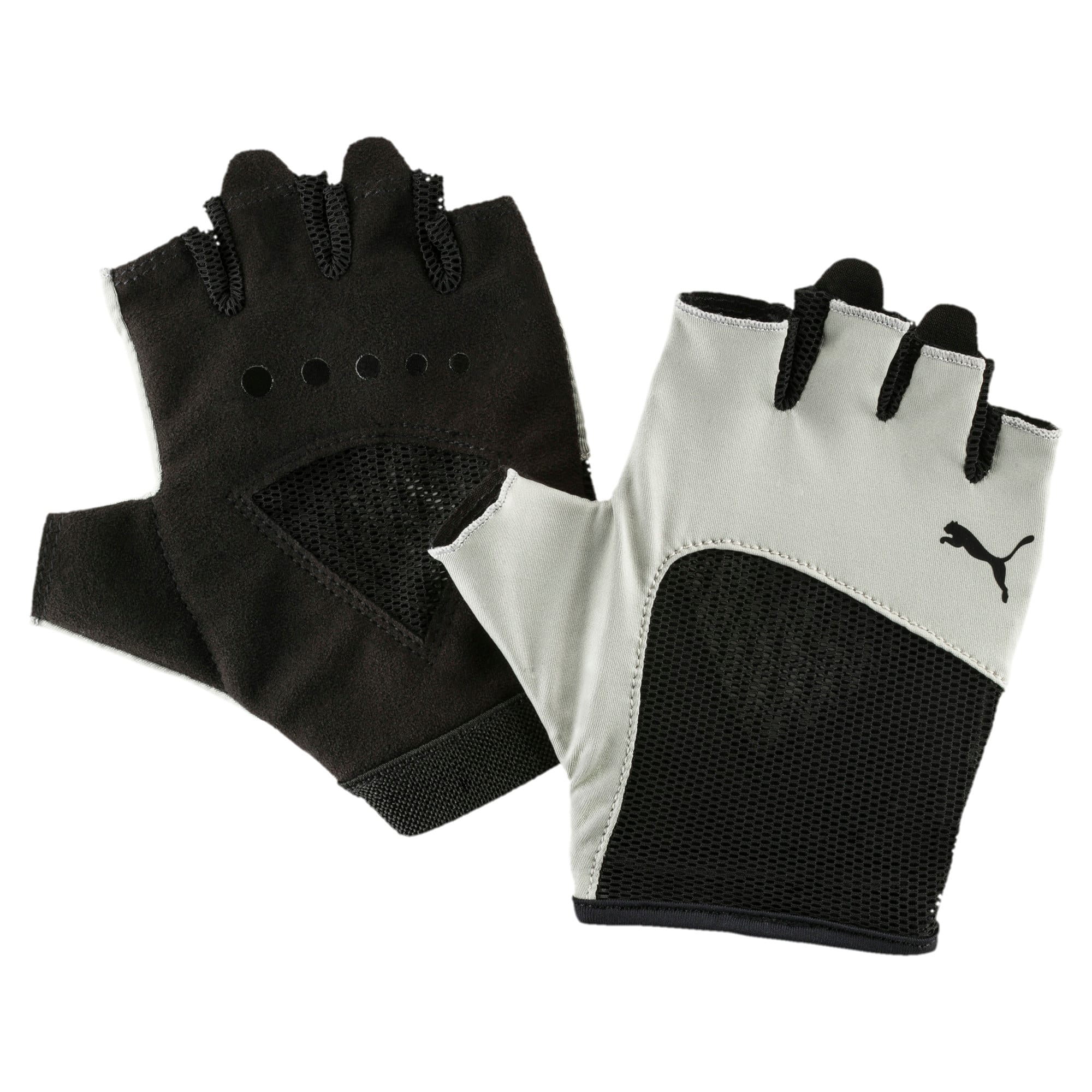 Thumbnail 1 of Gym Women's Gloves, Rock Ridge-Puma Black, medium-IND