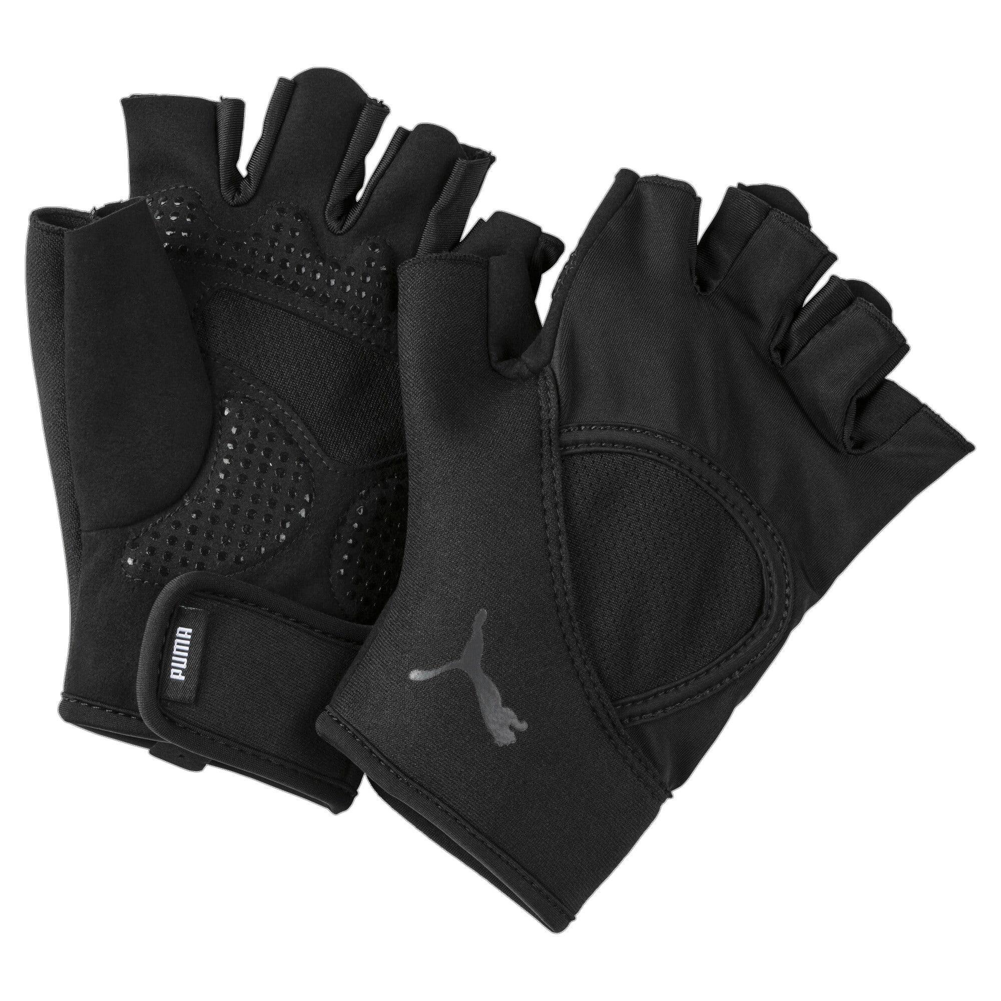 Thumbnail 1 of Essential trainingshandschoenen met vingers, Puma Black, medium