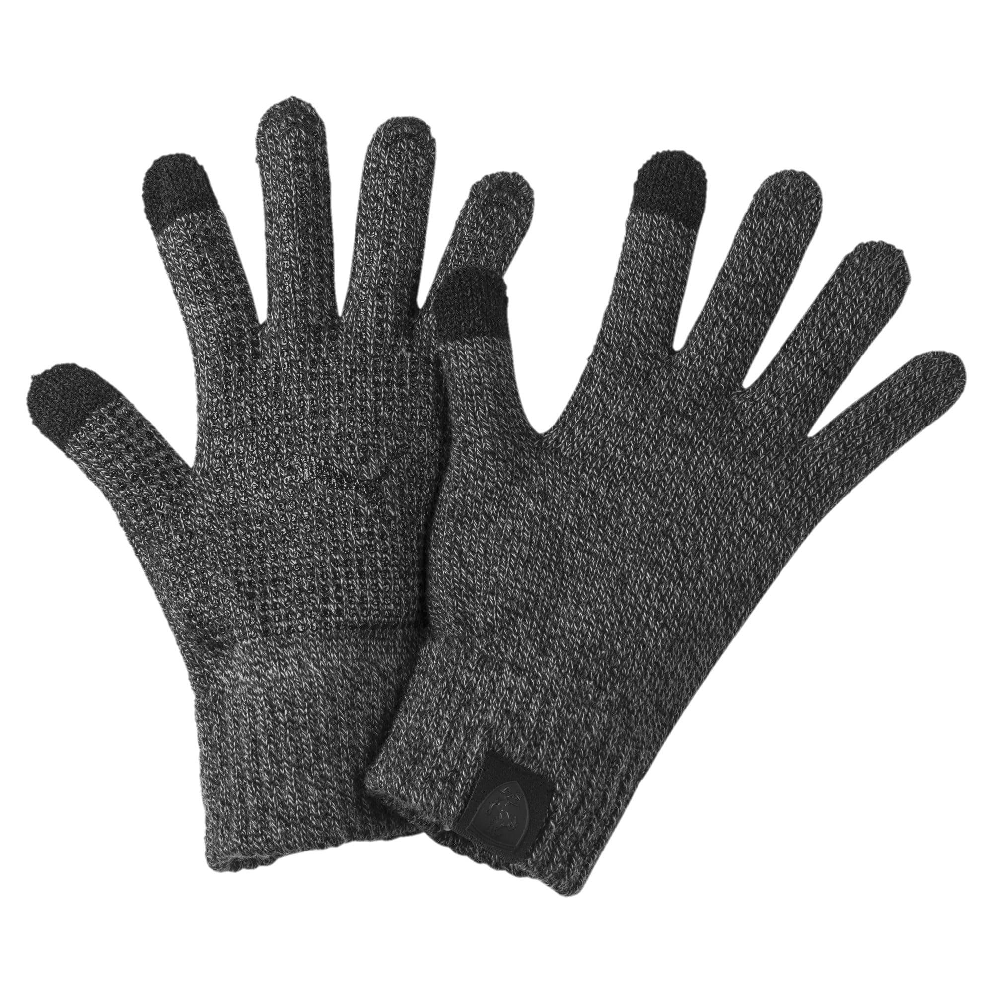 Thumbnail 1 of Ferrari Lifestyle Knit Gloves, Puma Black, medium-IND