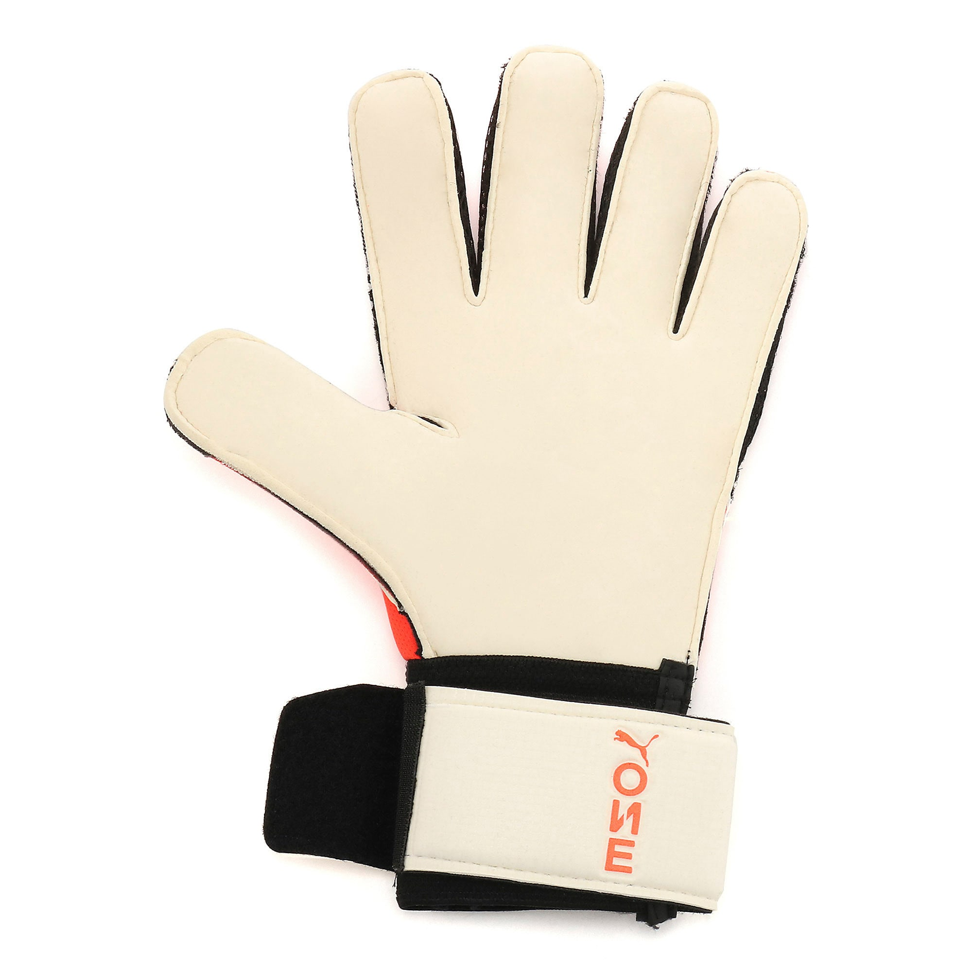 Thumbnail 2 of プーマ ワン グリップ 1 RC サッカー ゴールキーパーグローブ, Nrgy Red-Black-Puma White, medium-JPN