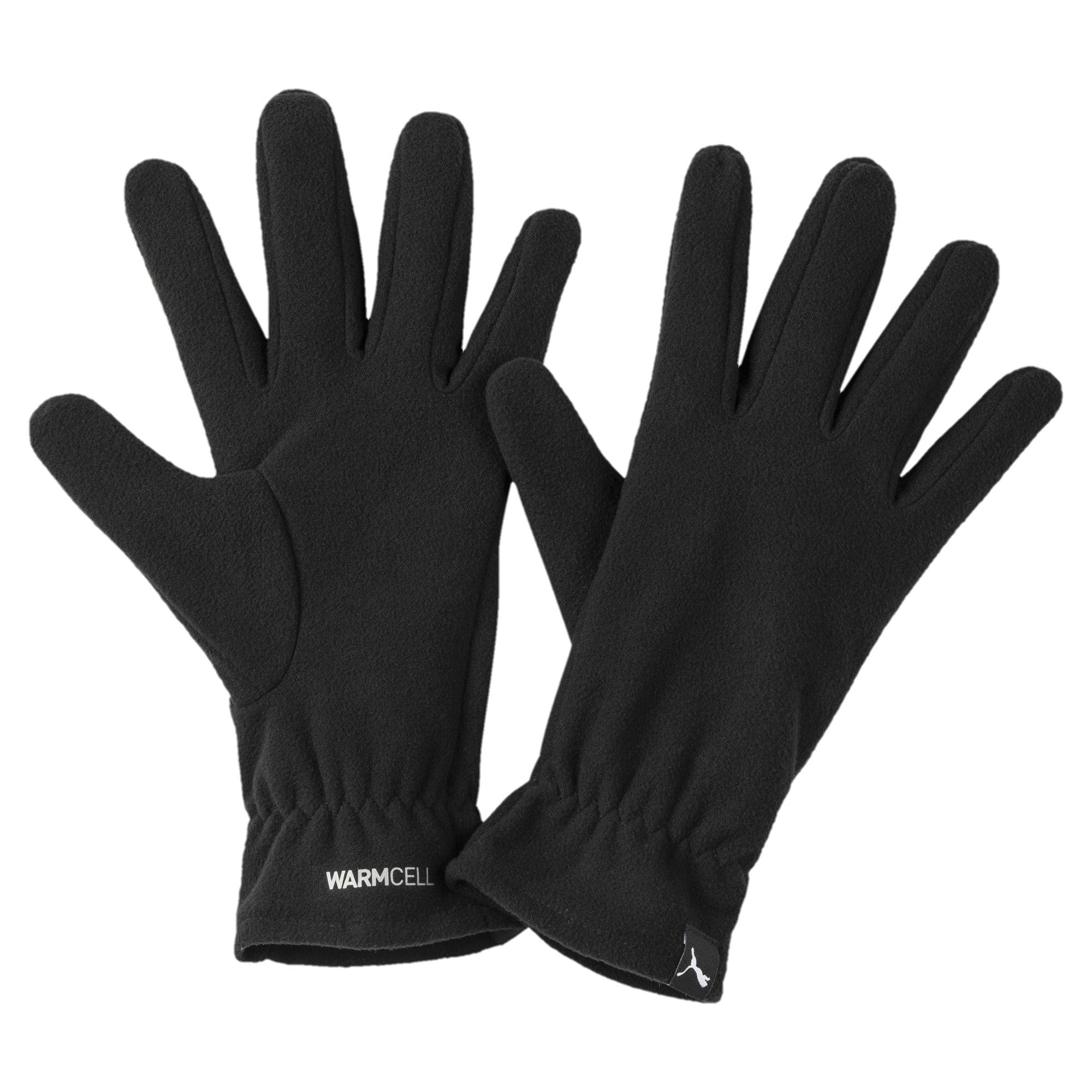Thumbnail 1 of warmCELL Fleece Gloves, Puma Black, medium-IND