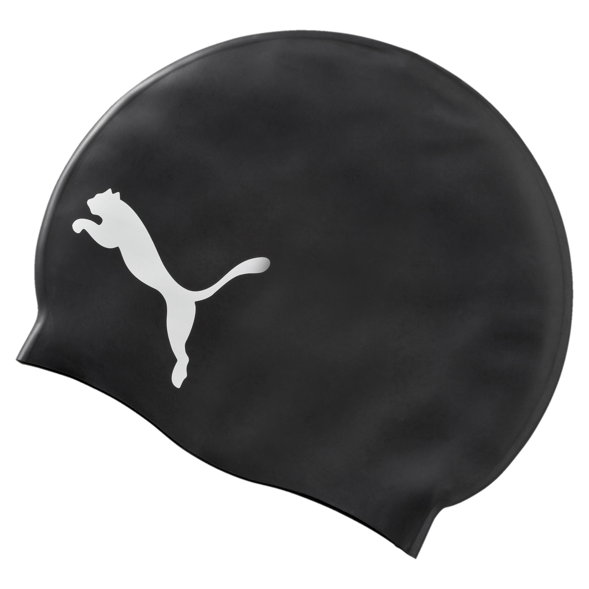 Thumbnail 1 of PUMA Swim Cap, black-white, medium-IND