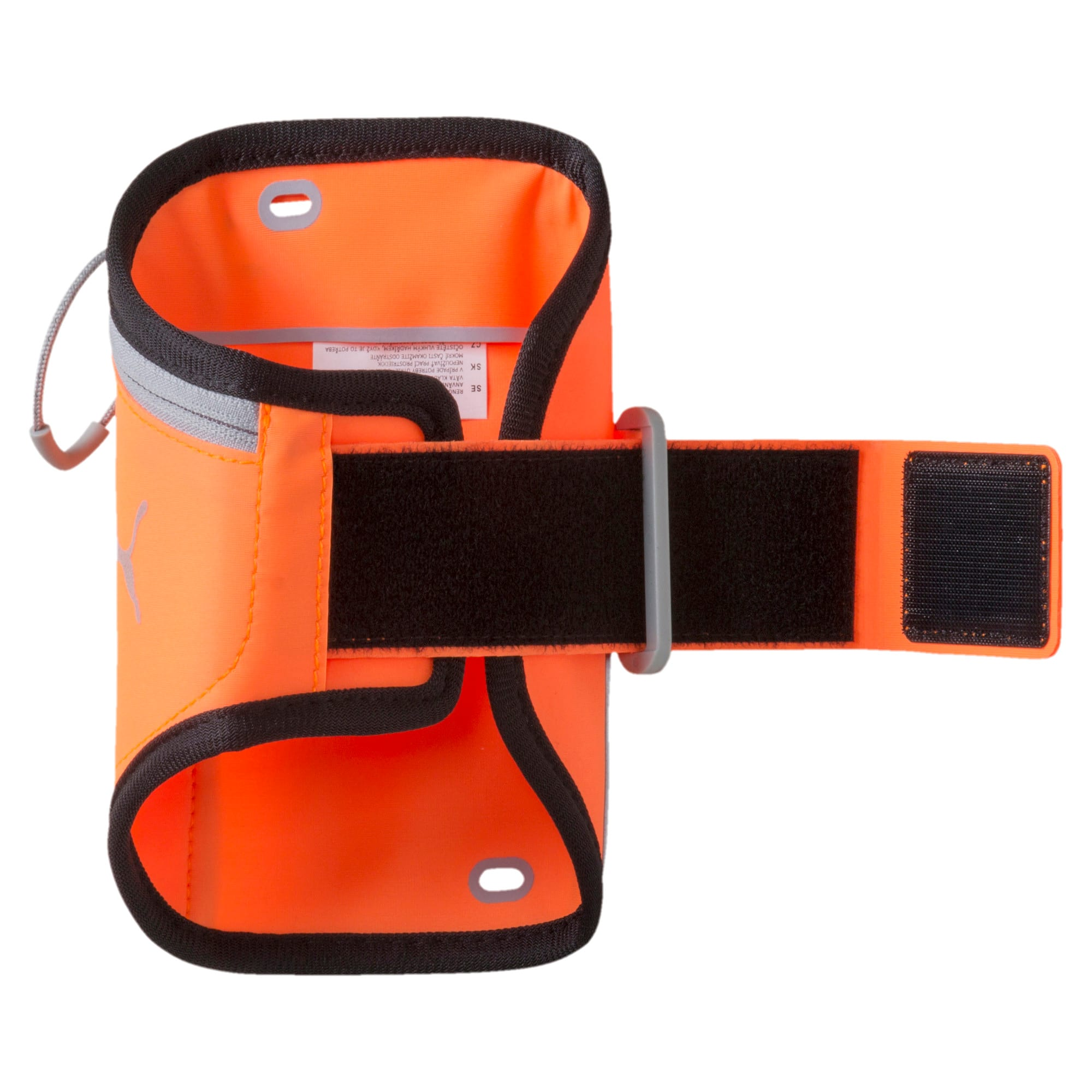 Thumbnail 2 of Running iPhone Arm Pocket, Shocking Orange-Black-Quarry, medium-IND