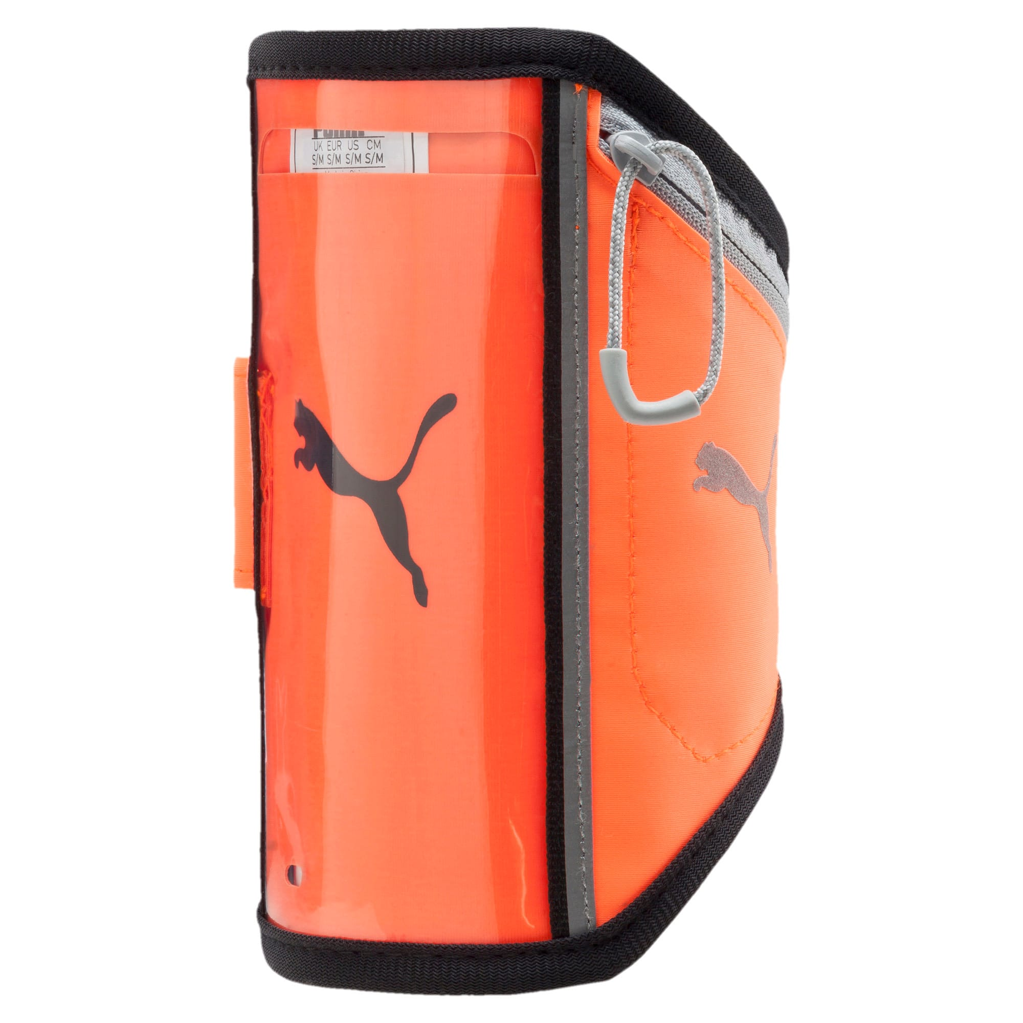 Thumbnail 1 of Running iPhone Arm Pocket, Shocking Orange-Black-Quarry, medium-IND