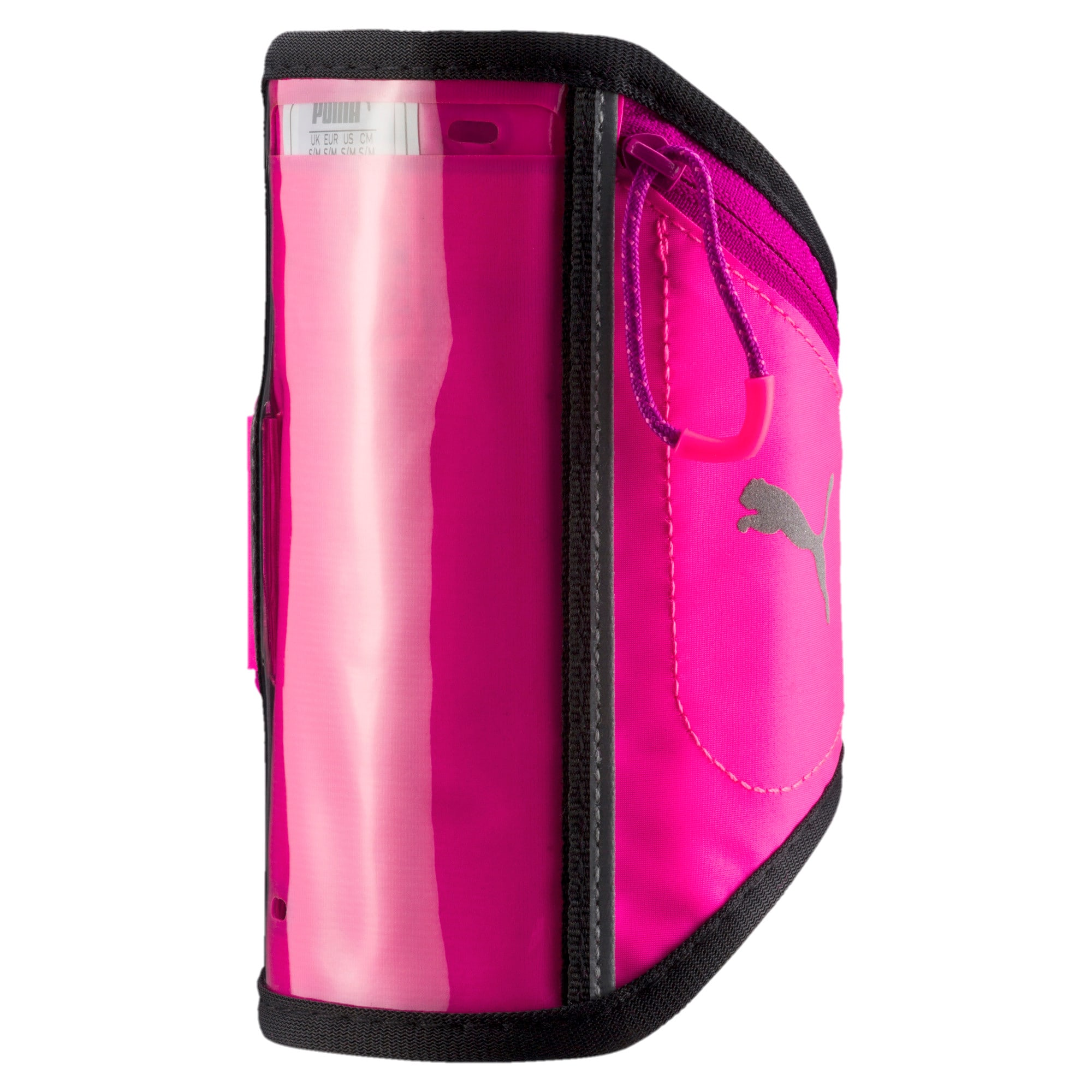 Thumbnail 1 of Running iPhone Arm Pocket, KNOCKOUT PINK-ULTRA MAGENTA, medium-IND