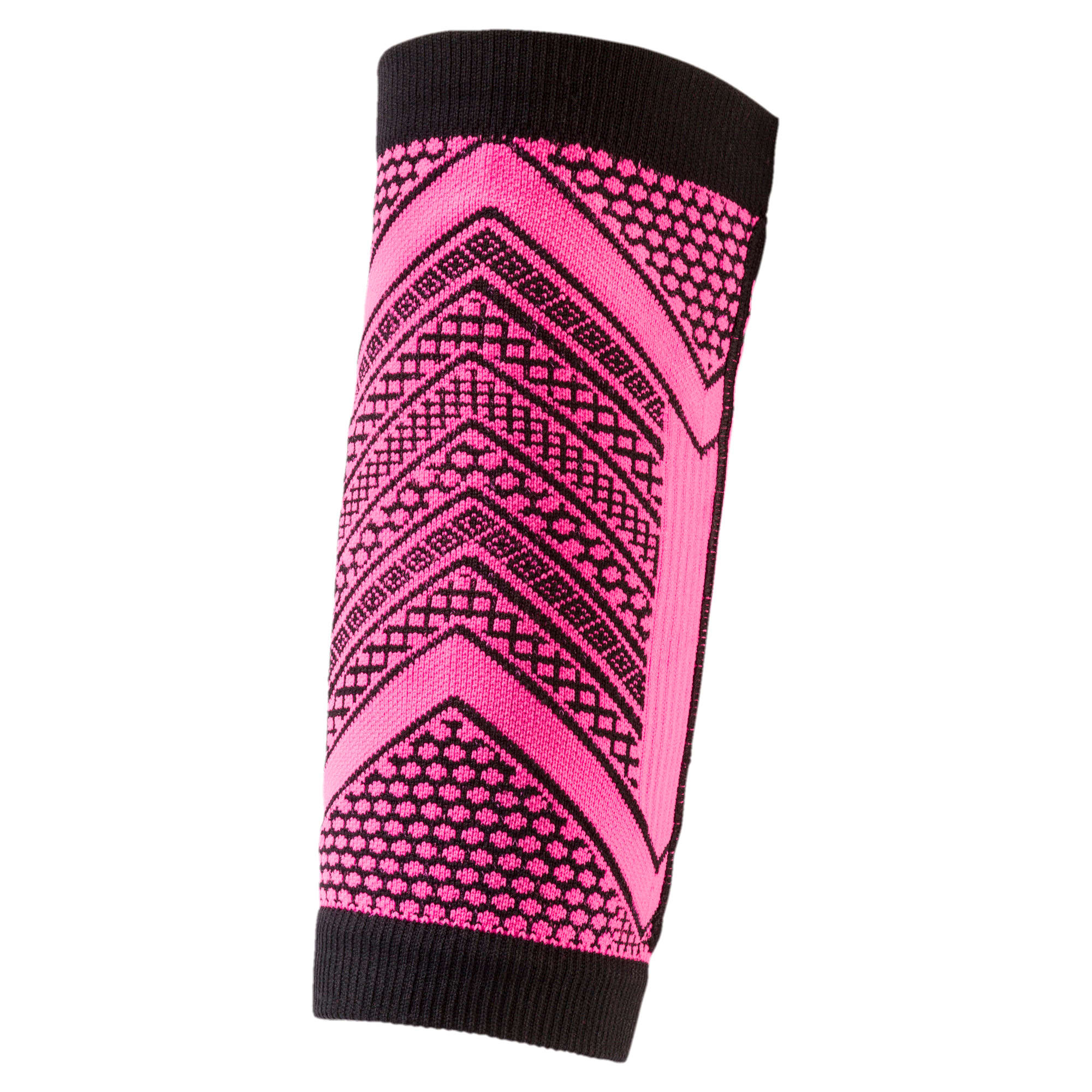 Thumbnail 2 of Running evoKNIT Forearm Band, KNOCKOUT PINK-Puma Black, medium-IND