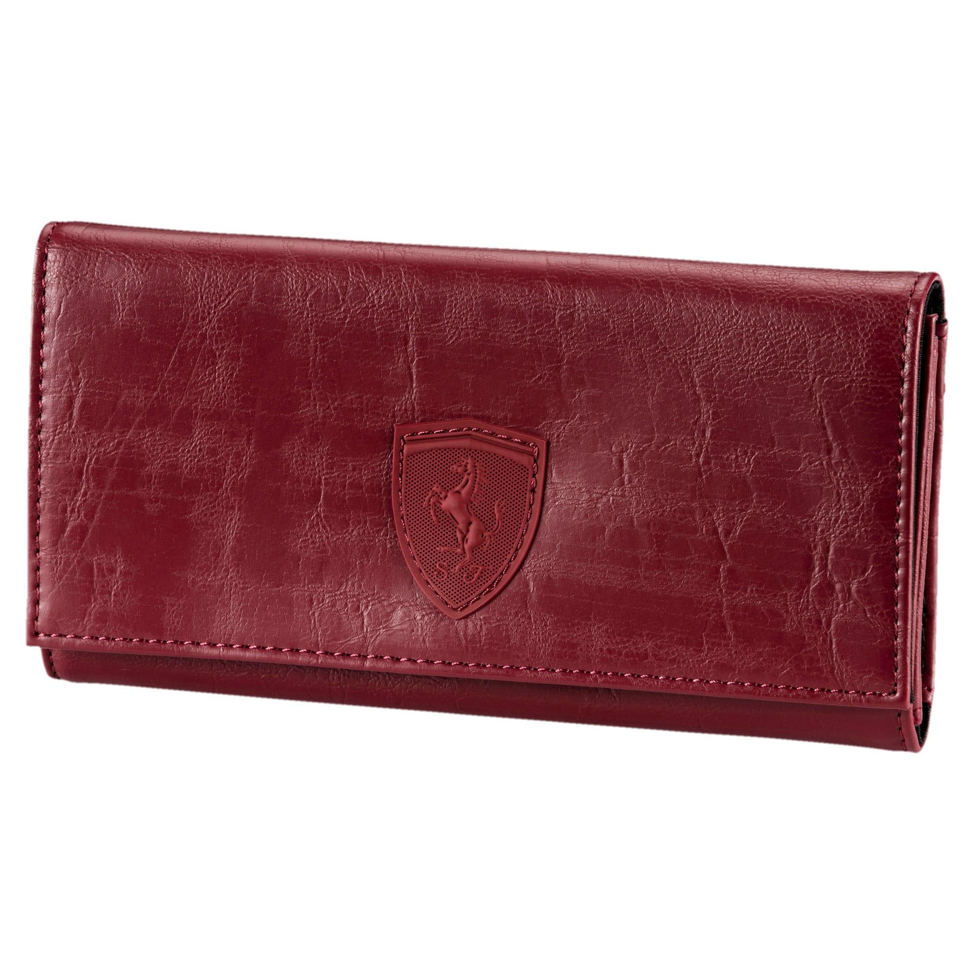 Thumbnail 1 of Ferrari Lifestyle Women's Wallet, Pomegranate, medium-SEA