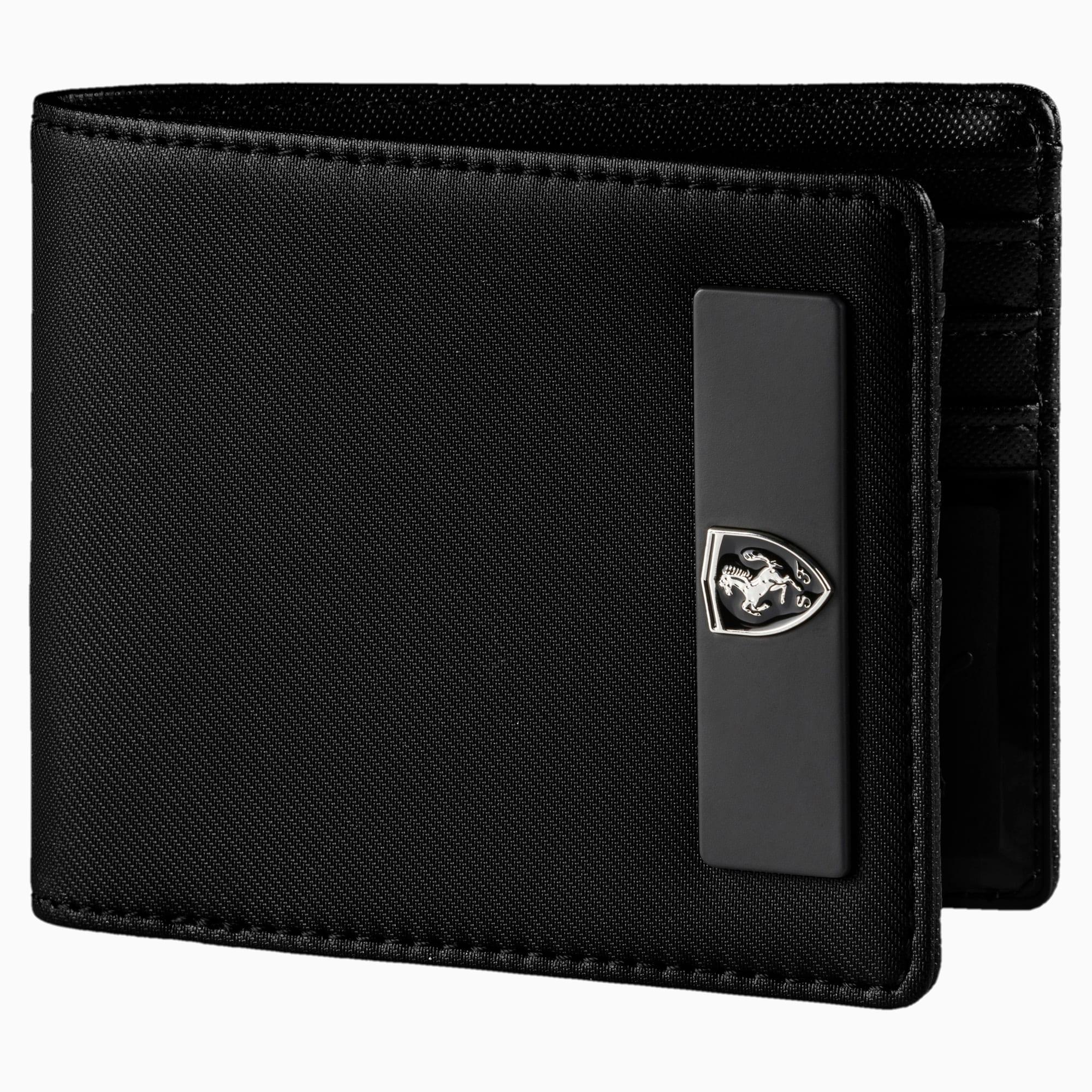 Ferrari Lifestyle Wallet, Puma Black, large-SEA