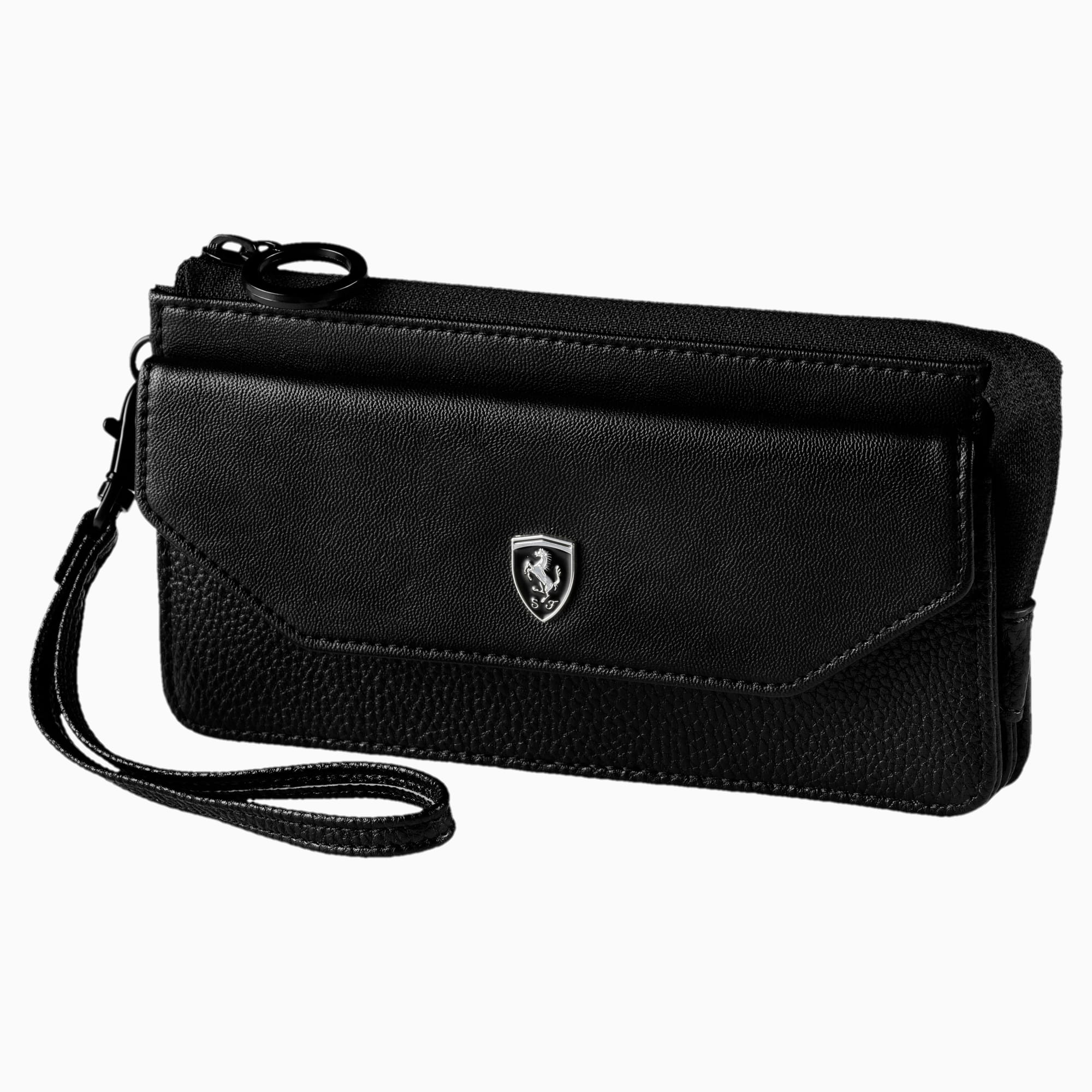 Ferrari Lifestyle Women's Wallet, Puma Black, large-SEA