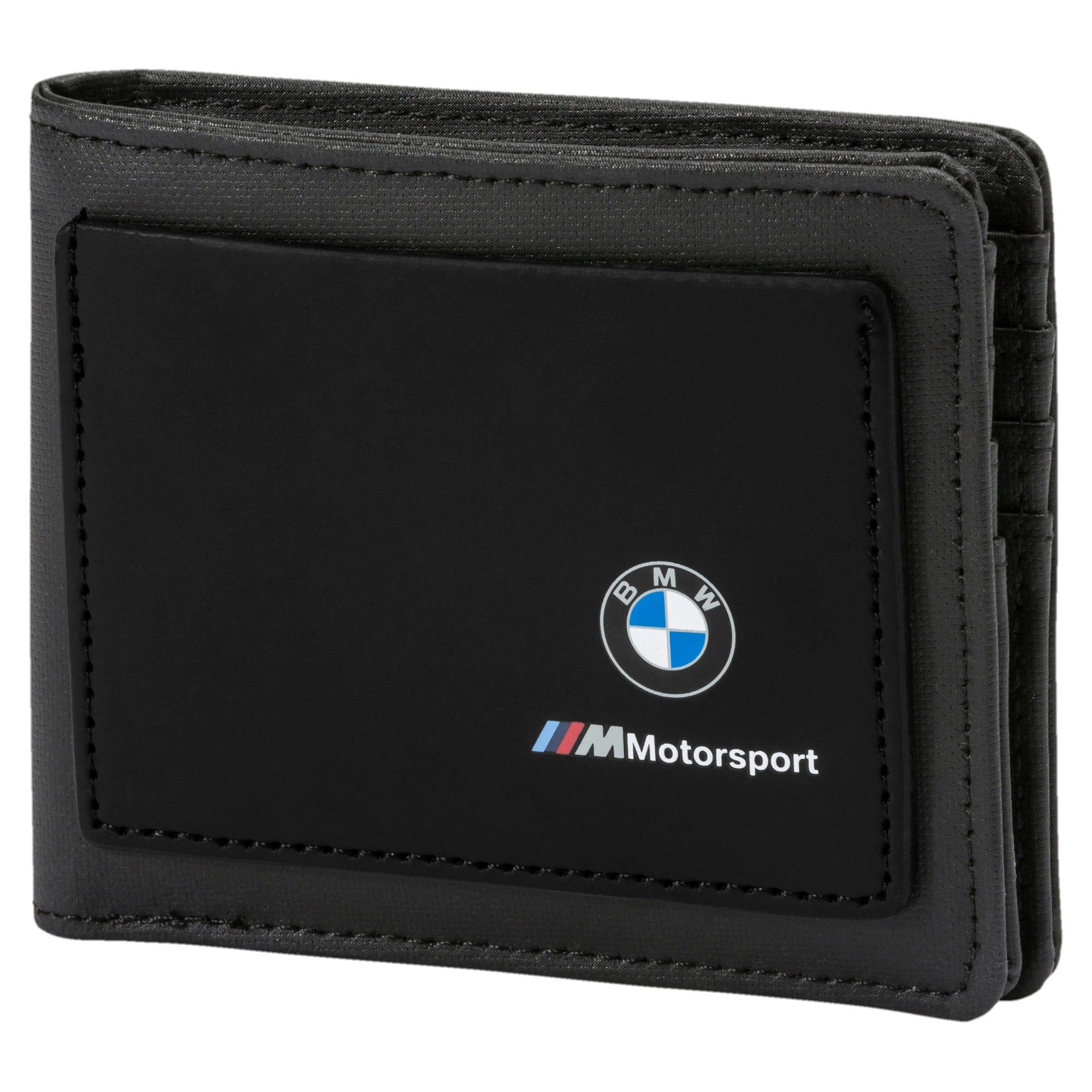 Thumbnail 1 of BMW Motorsport Wallet, Puma Black, medium-IND