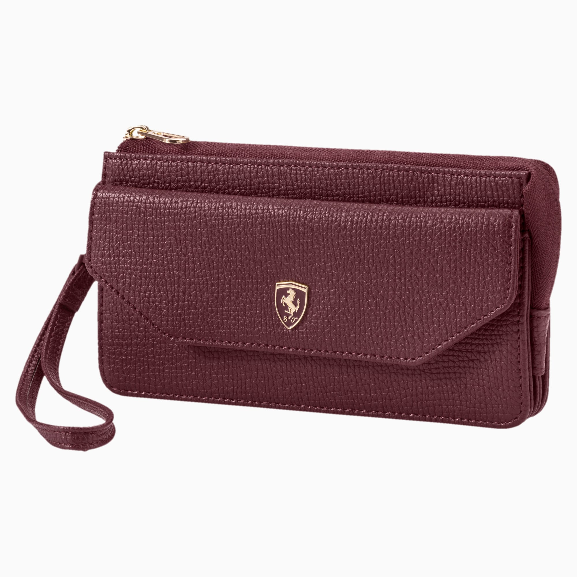 Ferrari Lifestyle Women's Wallet, Vineyard Wine, large-SEA