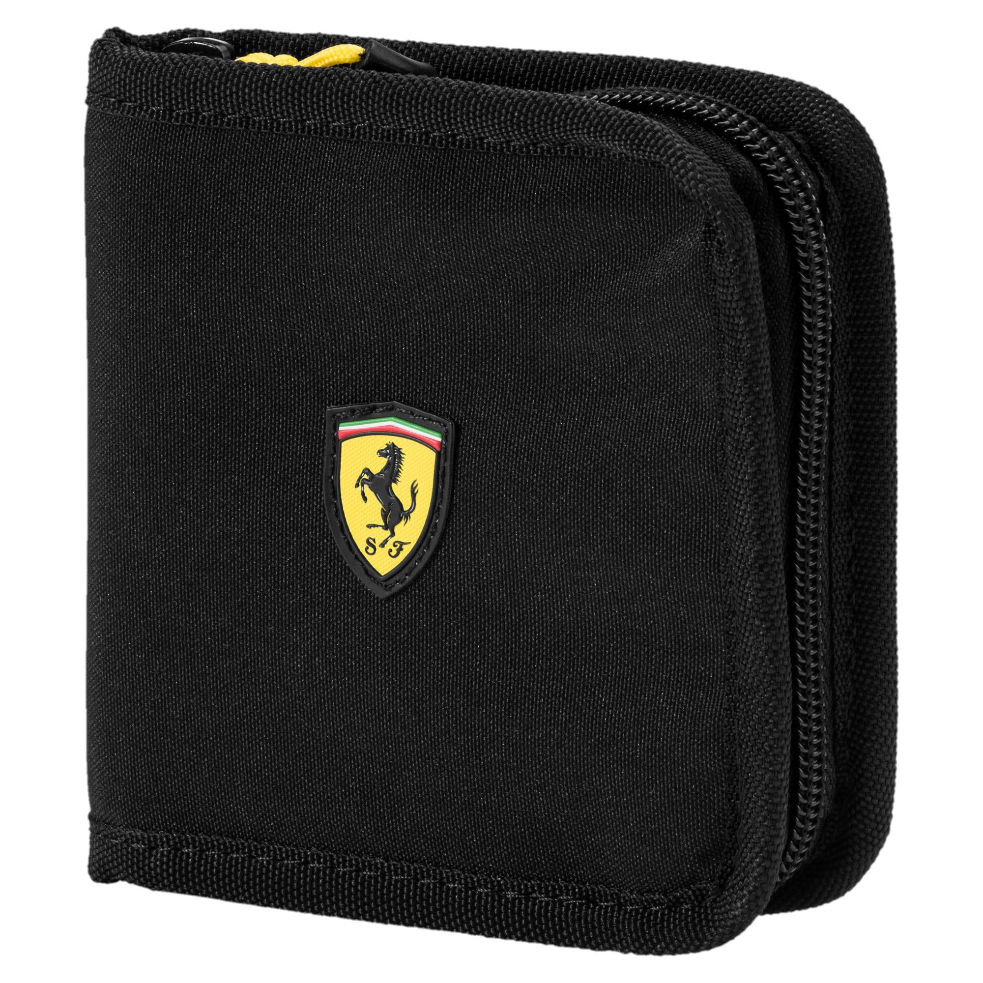 Thumbnail 1 of Ferrari Fanwear Wallet, Puma Black, medium-IND