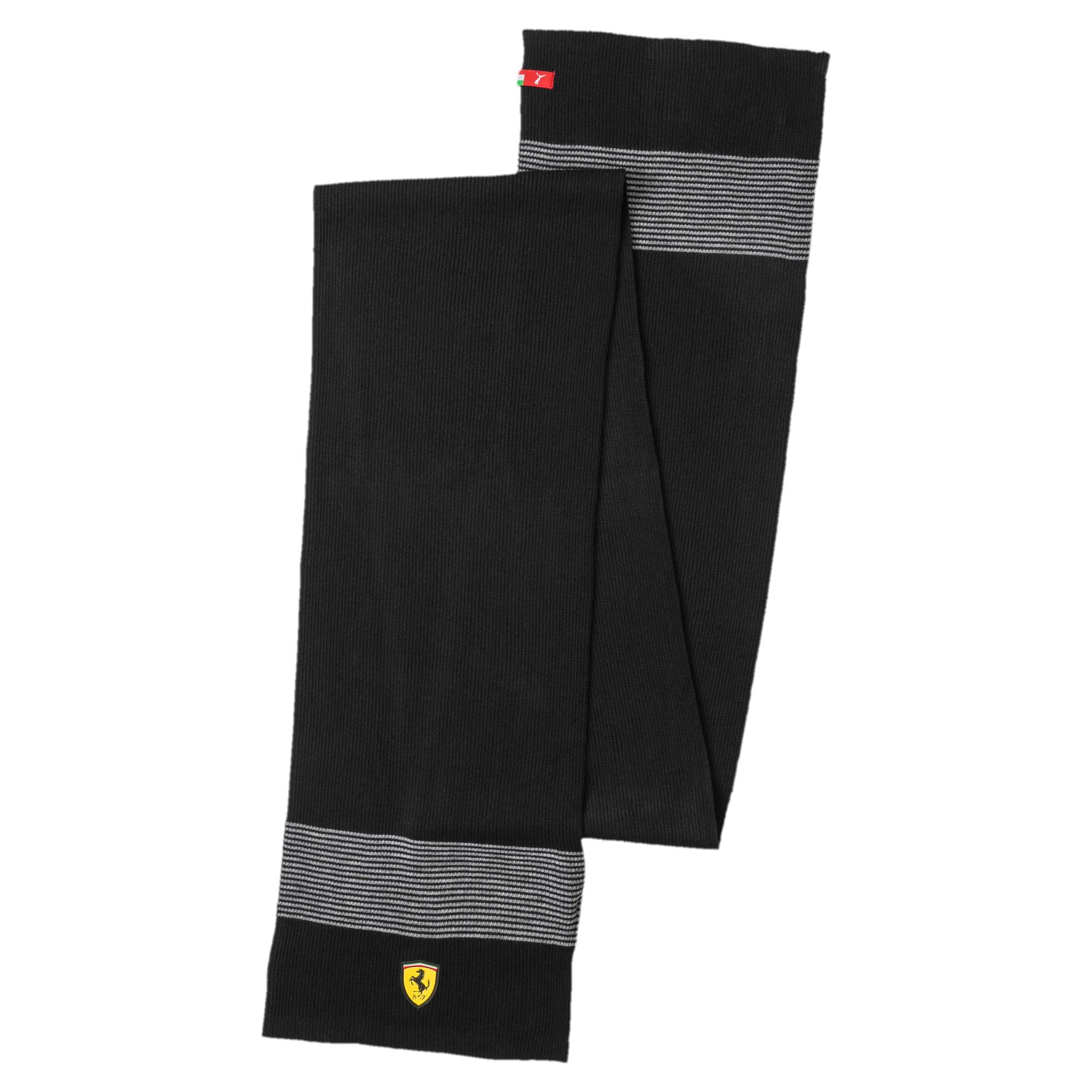 Thumbnail 1 of Ferrari Fanwear Scarf, Puma Black, medium