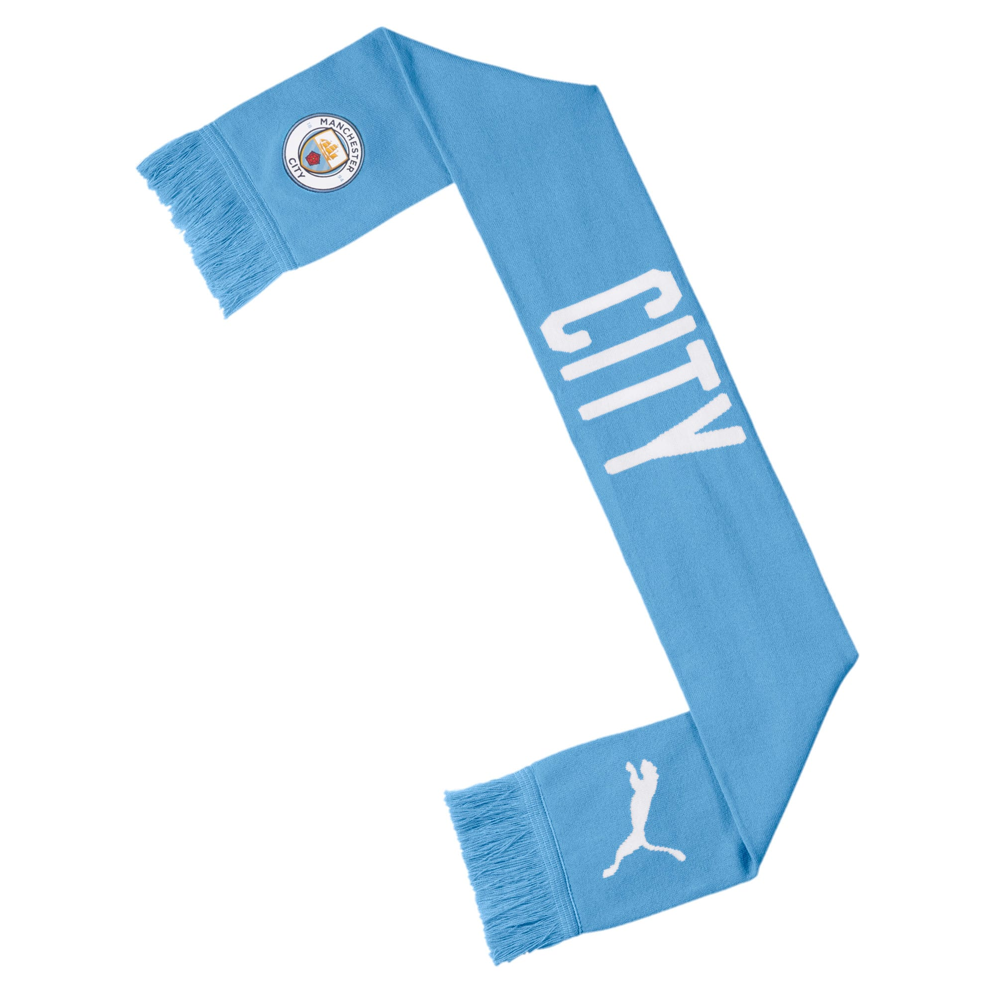 Thumbnail 2 of Manchester City FC DNA Fan Schal, Team Light Blue-Puma White, medium