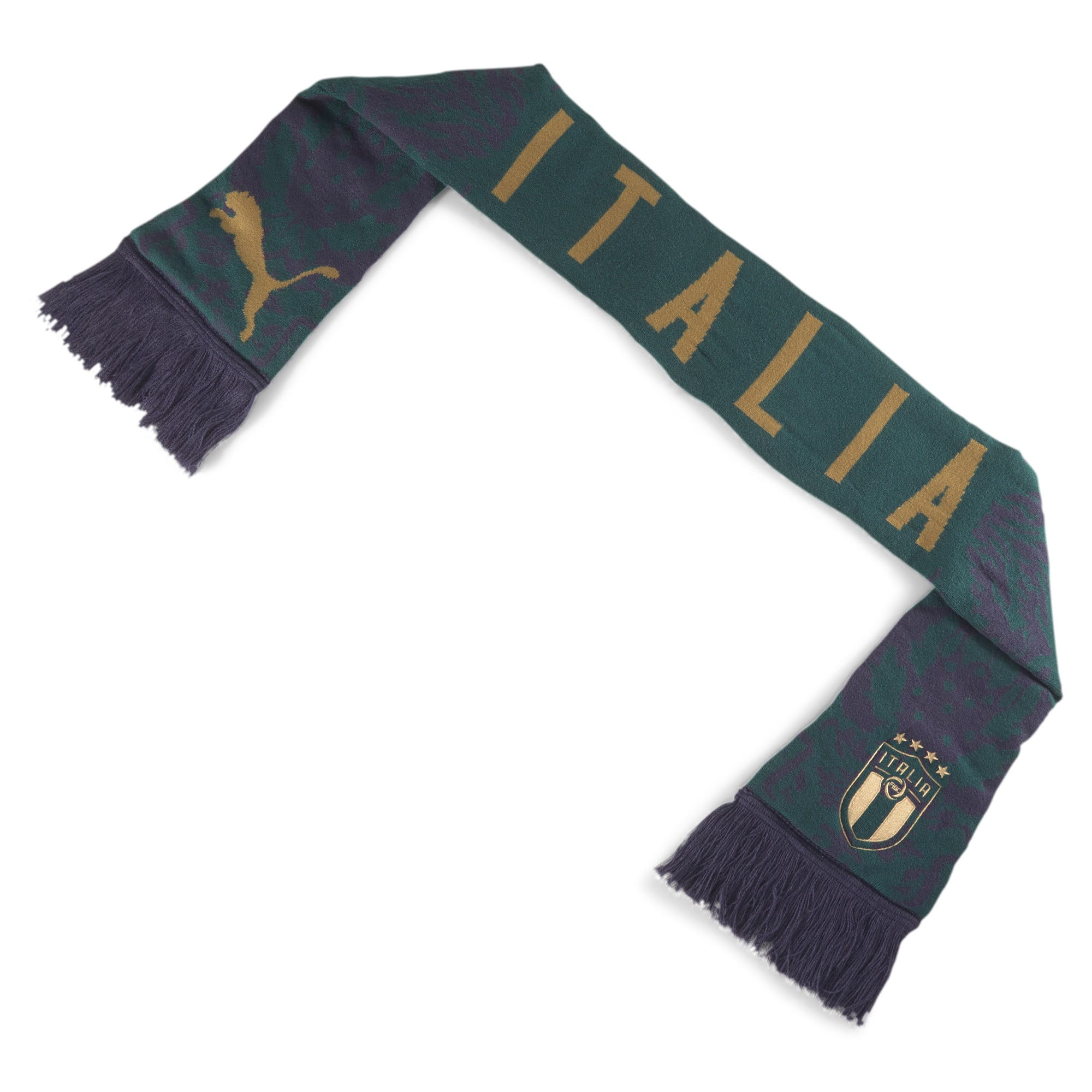Thumbnail 2 of Italia FtblCulture Fan Scarf, Ponderosa Pine-Peacoat, medium