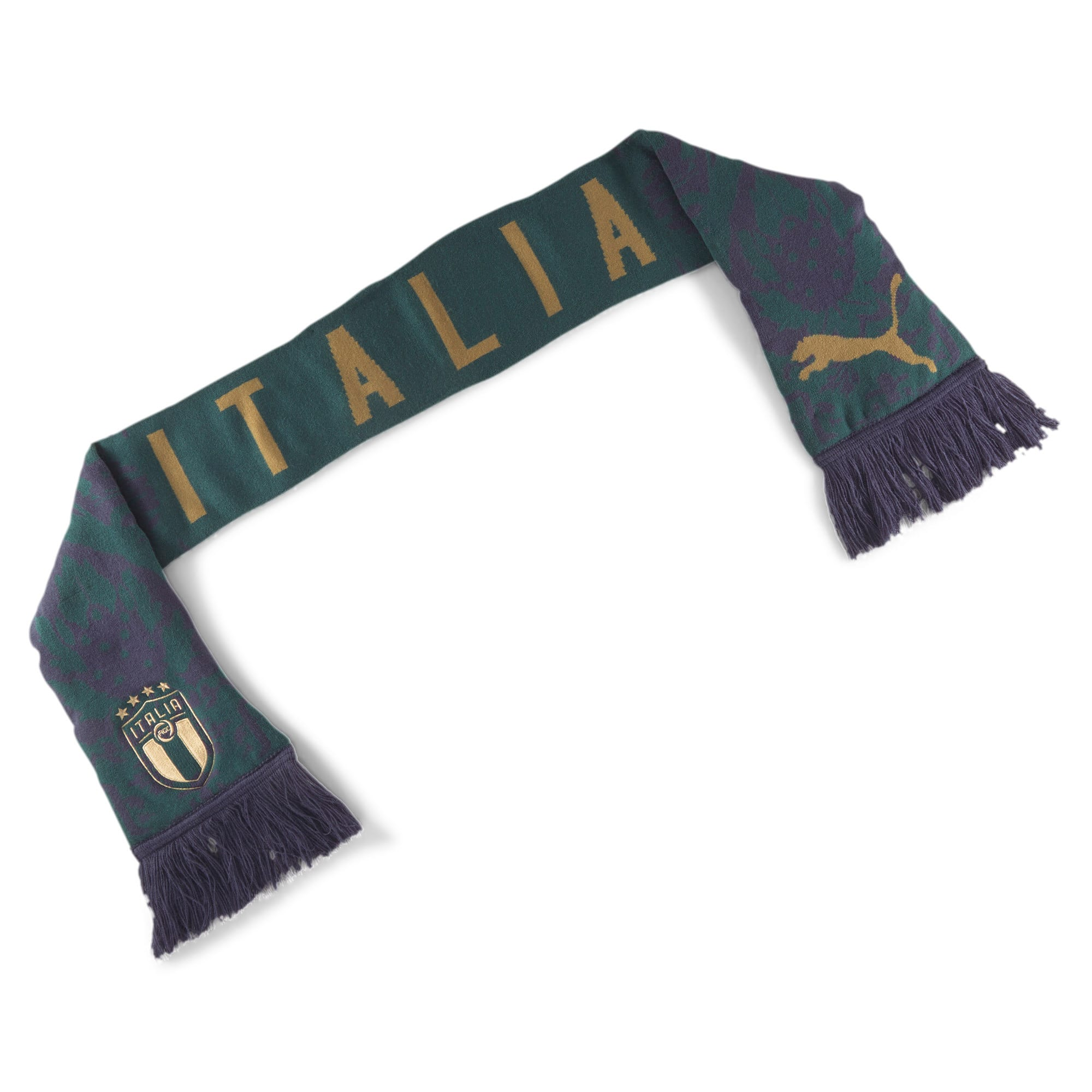 Thumbnail 1 of Italia FtblCulture Fan Scarf, Ponderosa Pine-Peacoat, medium