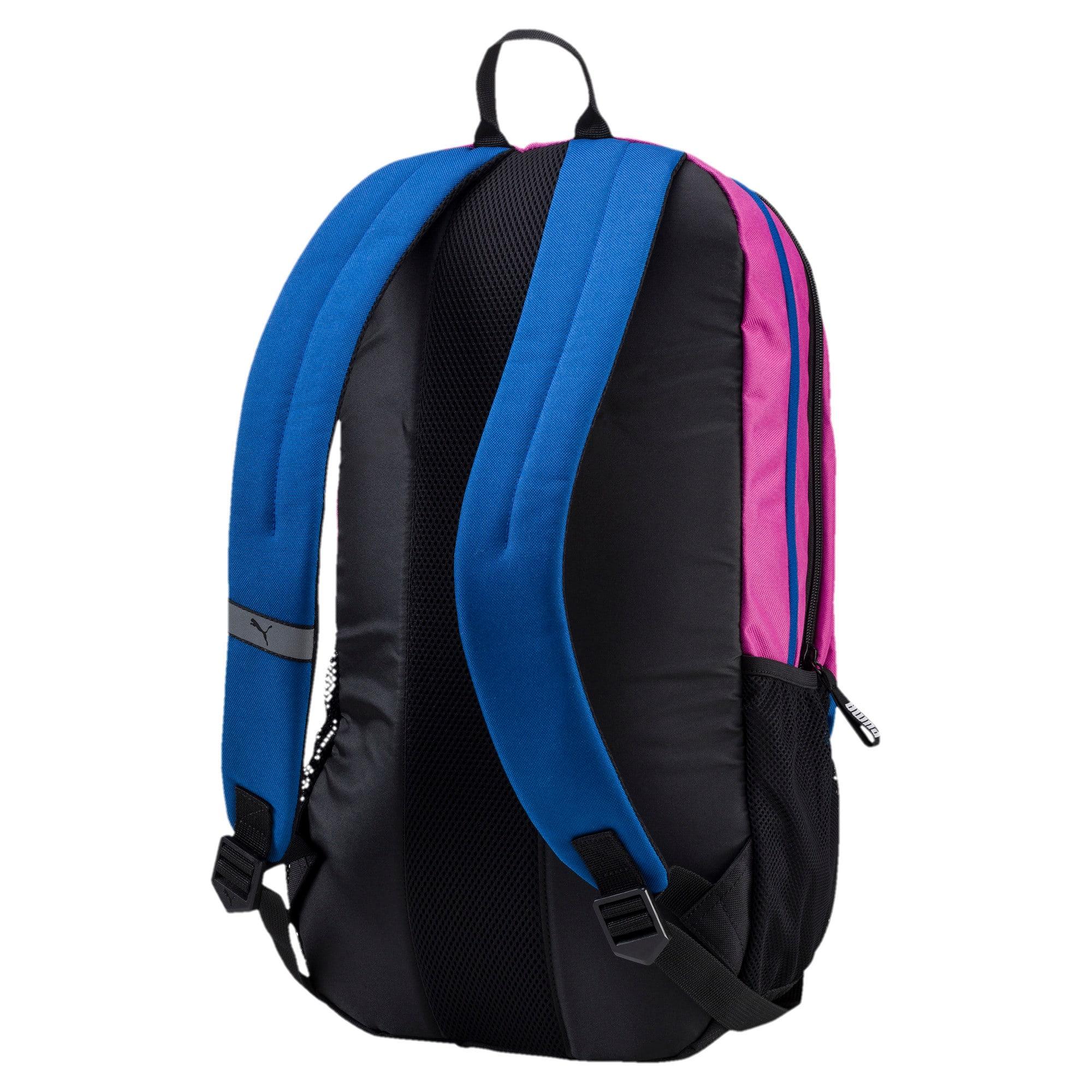 Thumbnail 2 of PUMA Deck Backpack, Rose Violet-TRUE BLUE, medium-IND