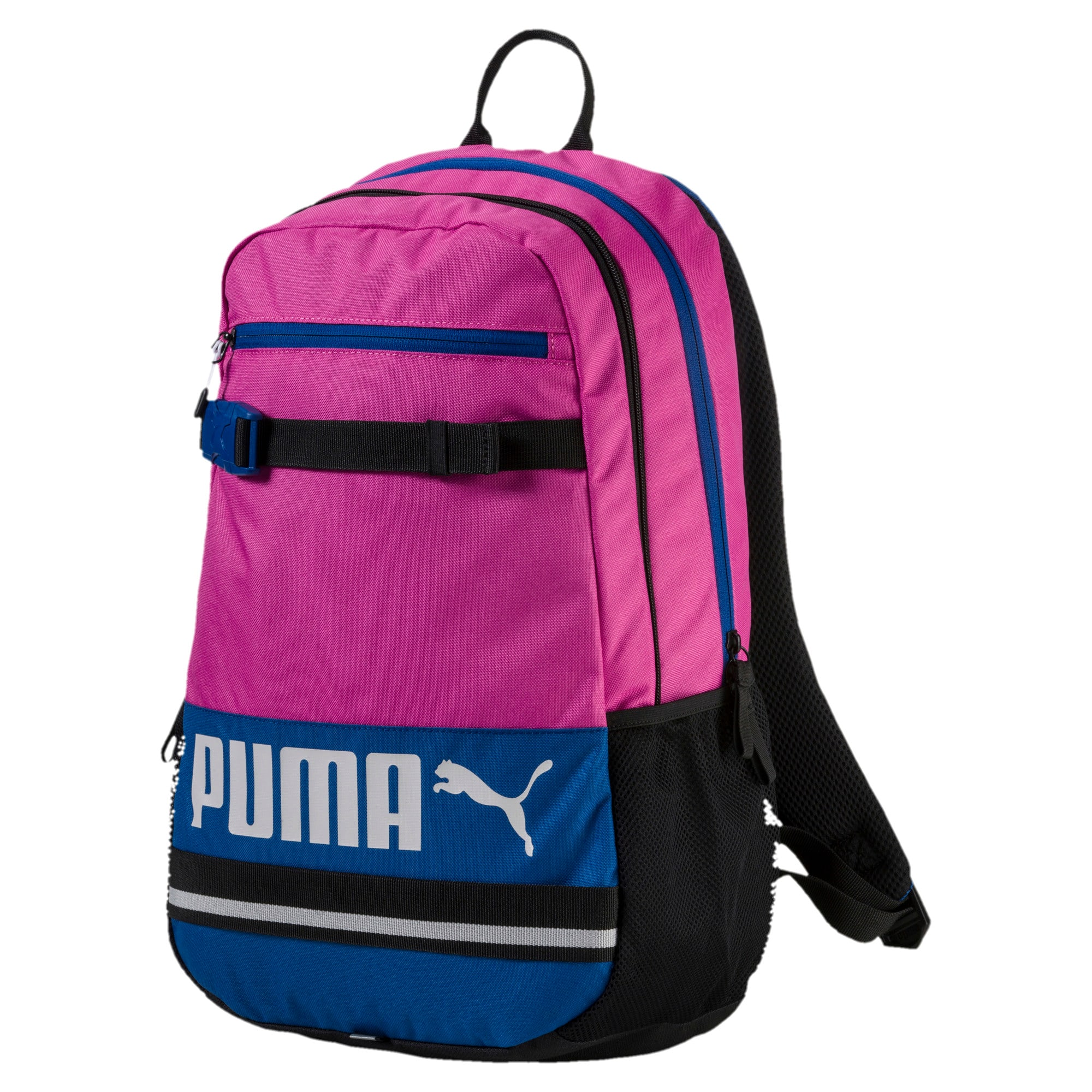 Thumbnail 1 of PUMA Deck Backpack, Rose Violet-TRUE BLUE, medium-IND