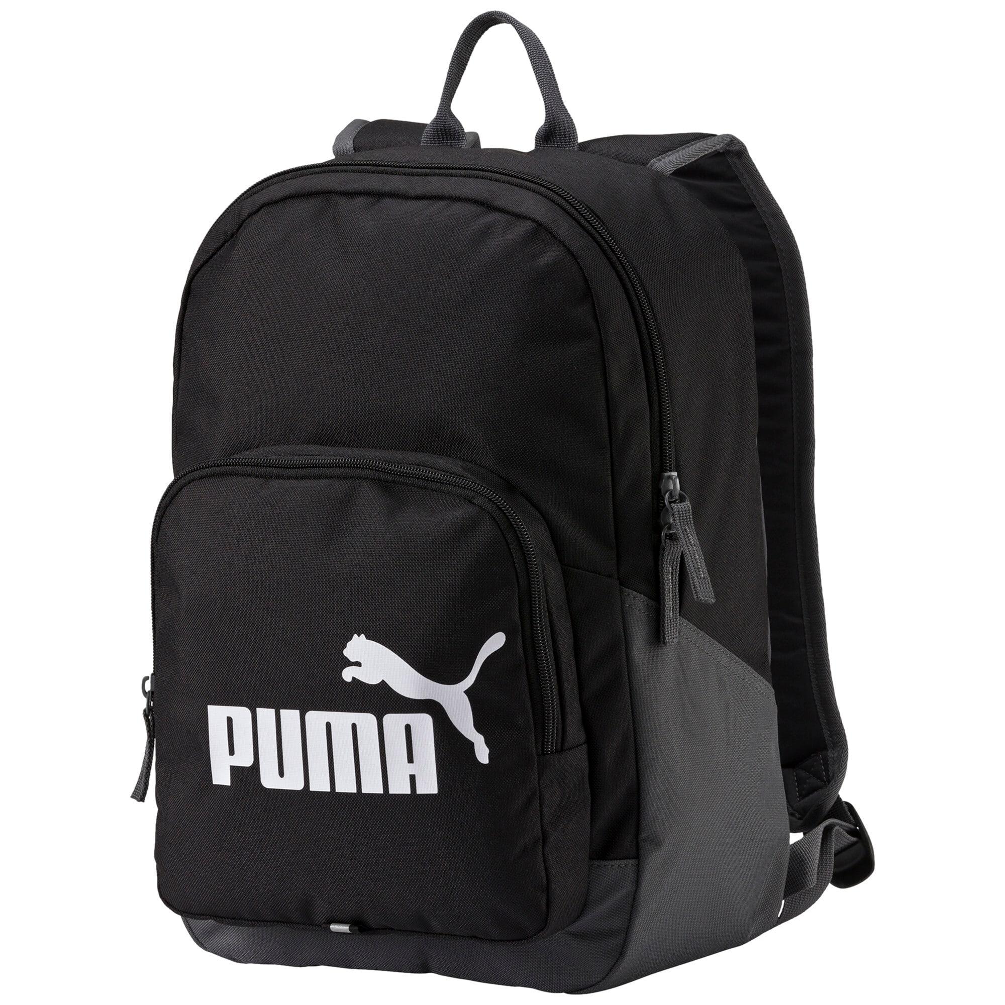 Thumbnail 1 of PUMA Phase Backpack, black, medium-IND