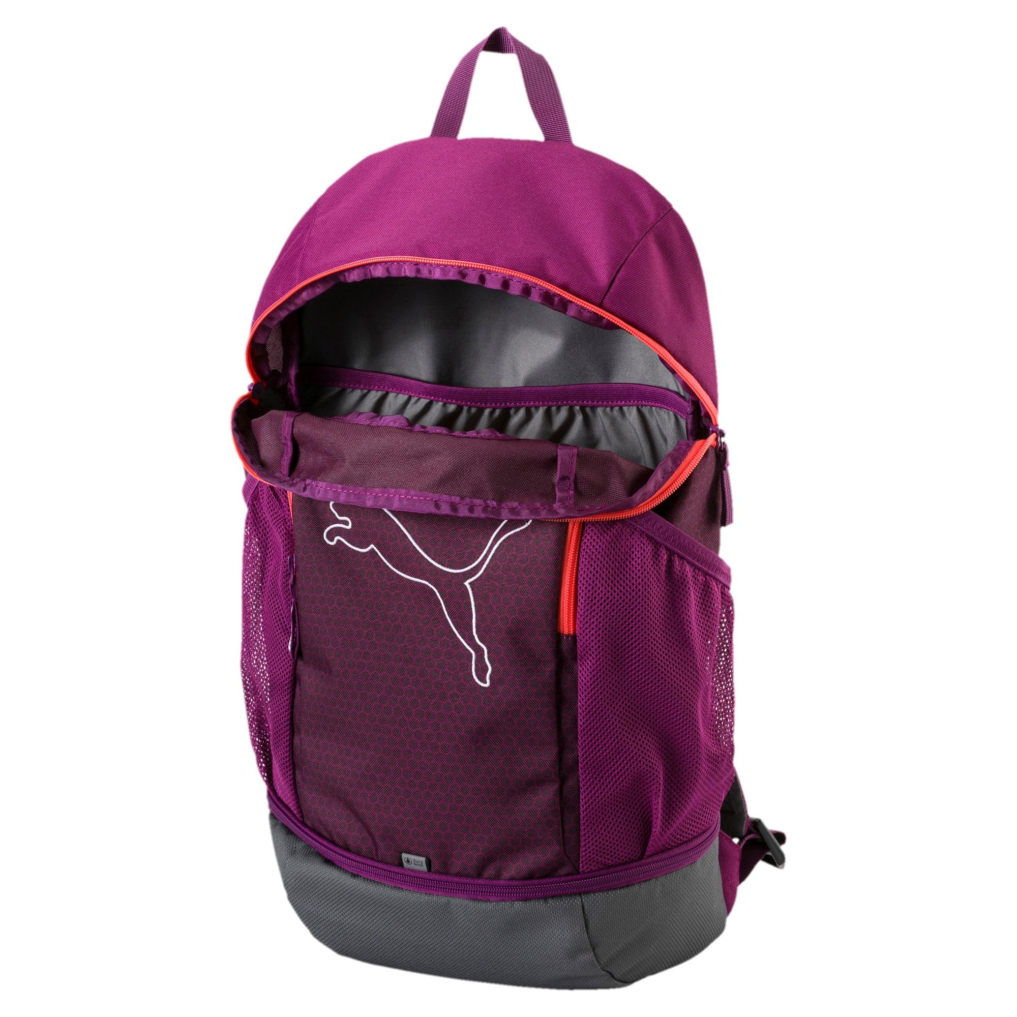 Thumbnail 3 of Echo Backpack, Dark Purple-Hot Coral, medium-IND