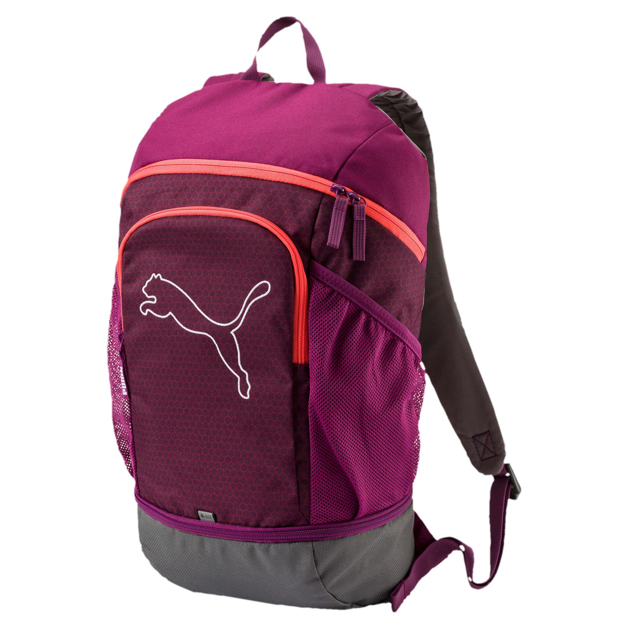 Thumbnail 1 of Echo Backpack, Dark Purple-Hot Coral, medium-IND