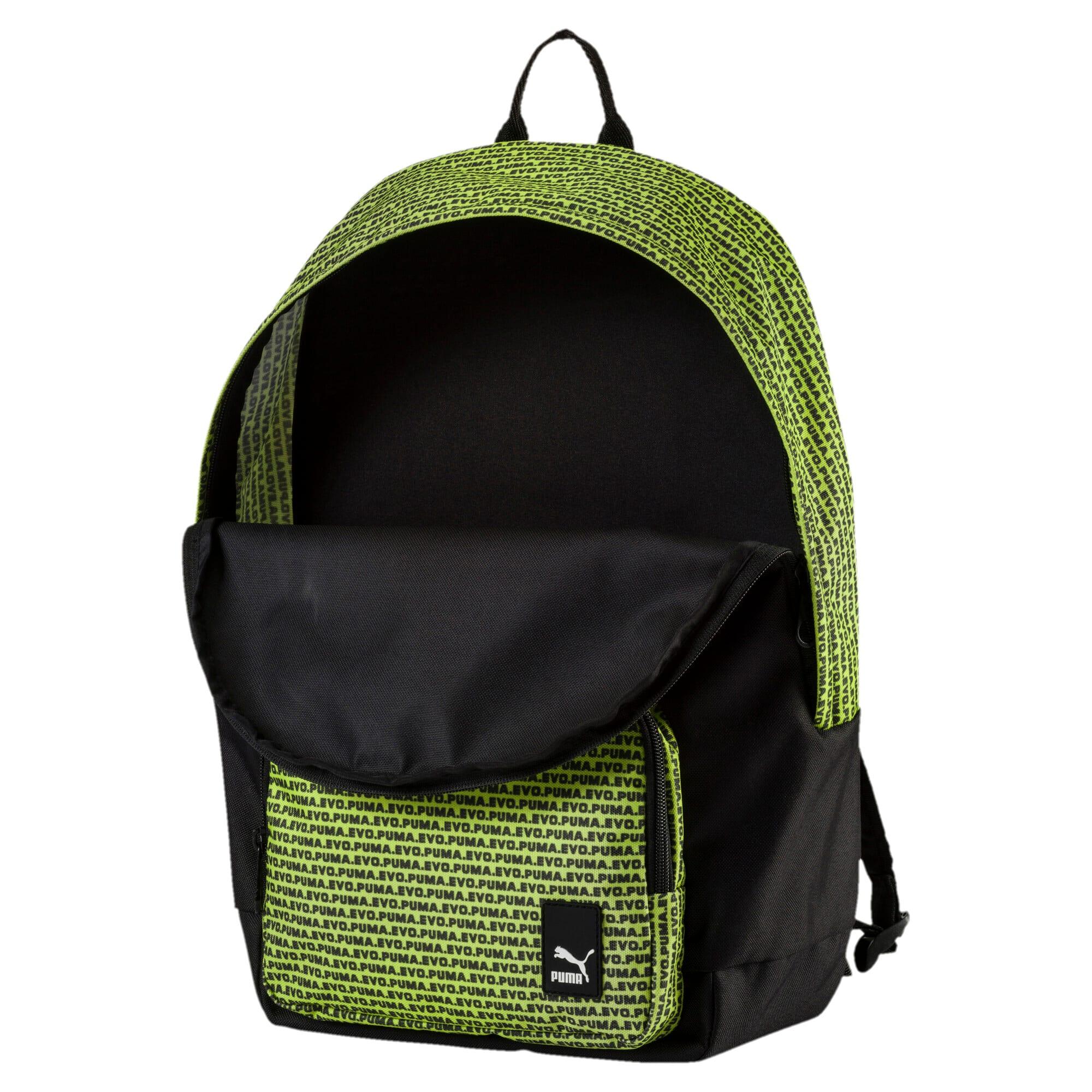 Thumbnail 3 of Prime Backpack, Puma Black-Evo graphic, medium-IND