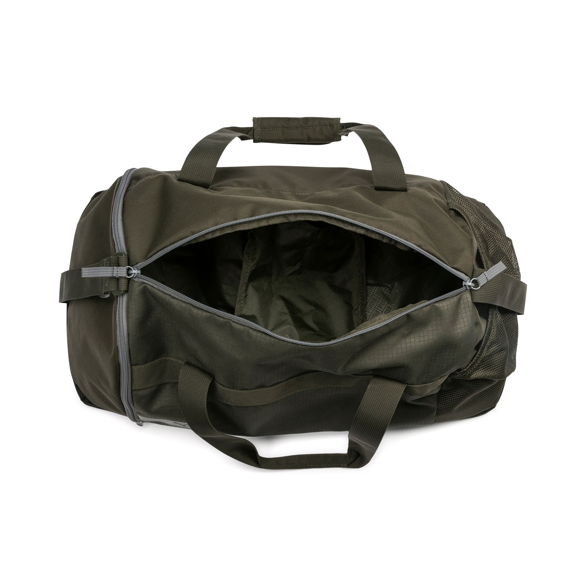 Thumbnail 3 of PUMA Vibe Gym Bag, Forest Night, medium-IND