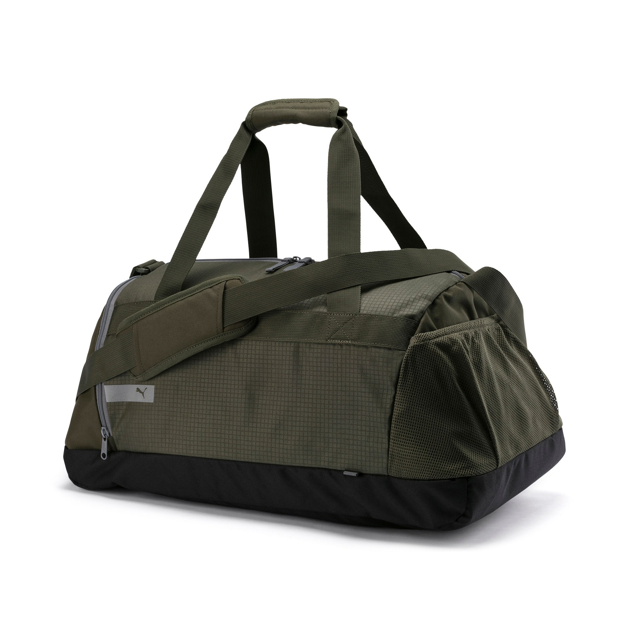 Thumbnail 1 of PUMA Vibe Gym Bag, Forest Night, medium-IND