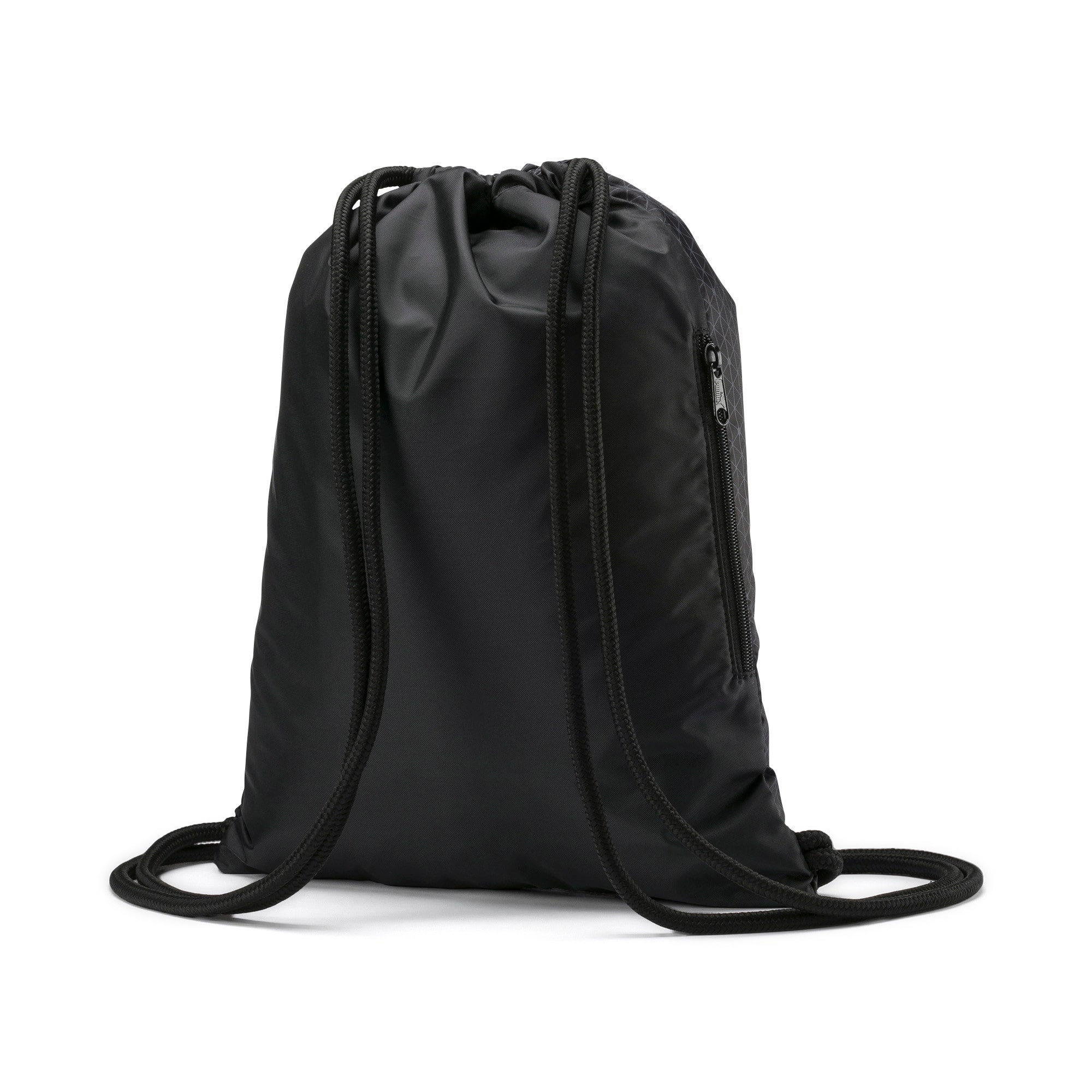 Thumbnail 2 of Beta Gym Bag, Puma Black-CASTLEROCK, medium-IND