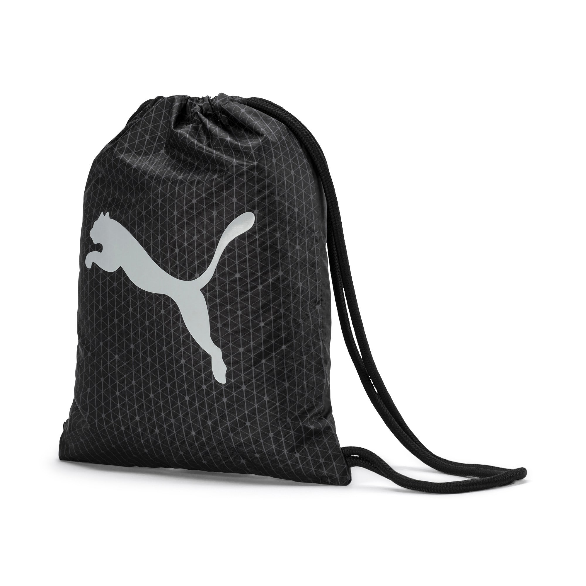 Thumbnail 1 of Beta Gym Bag, Puma Black-CASTLEROCK, medium-IND