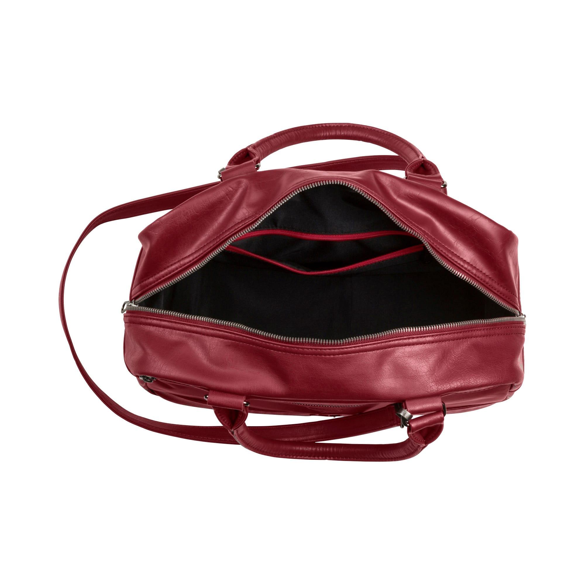 Thumbnail 3 of SF LS Handbag Puma Black, Pomegranate, medium-IND