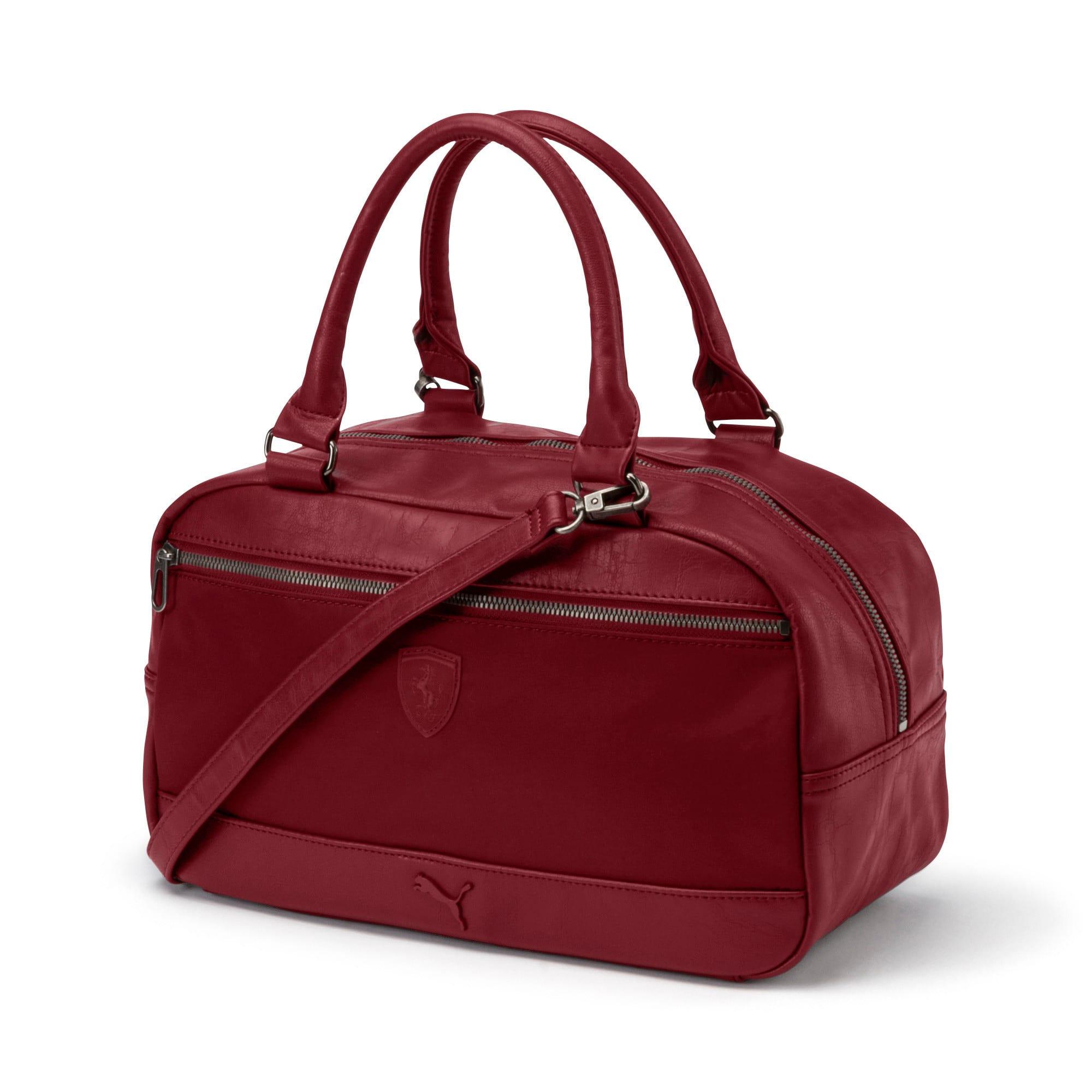 Thumbnail 1 of SF LS Handbag Puma Black, Pomegranate, medium-IND