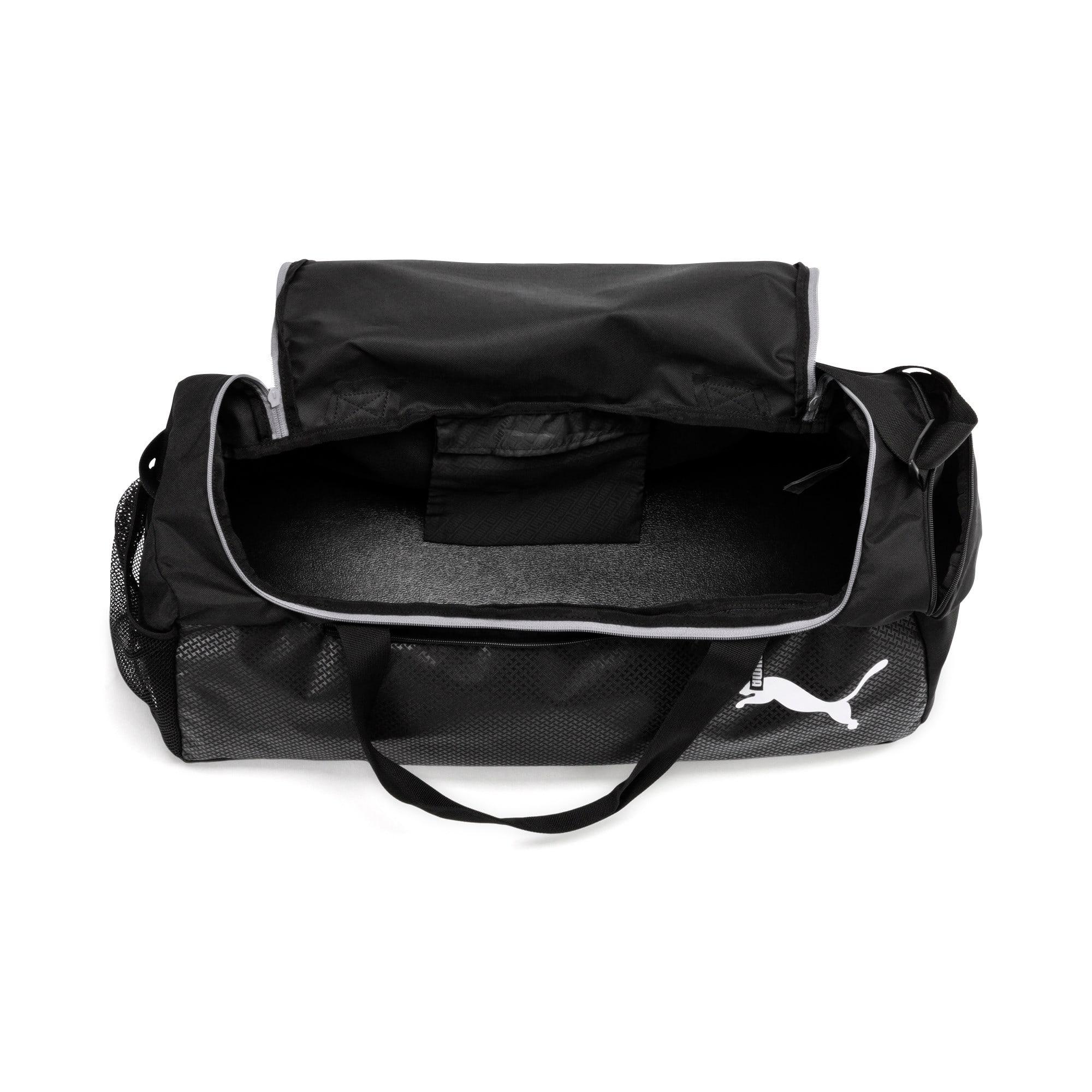 Thumbnail 3 of Fundamentals Medium Sports Bag, Puma Black, medium