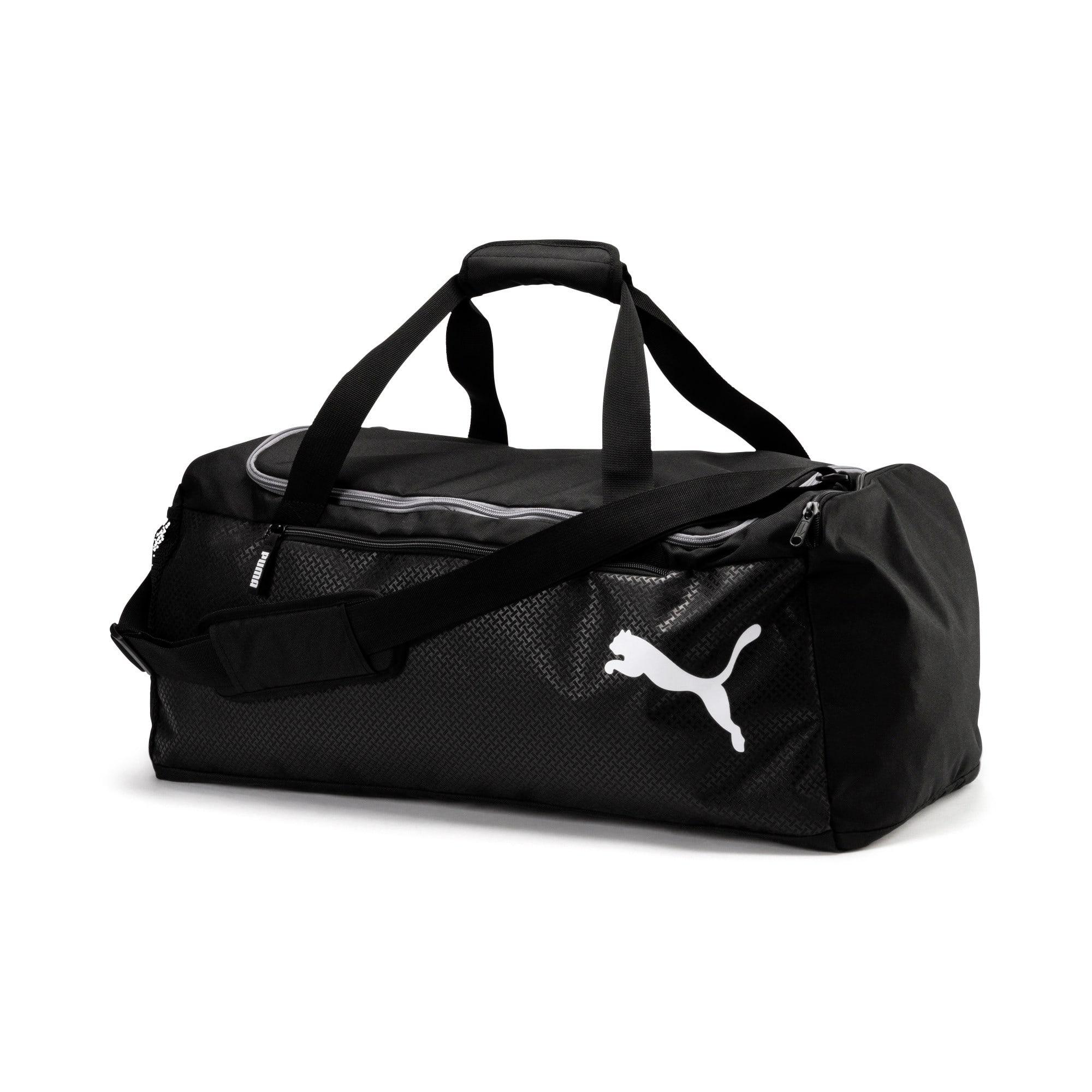 Thumbnail 1 of Fundamentals Medium Sports Bag, Puma Black, medium