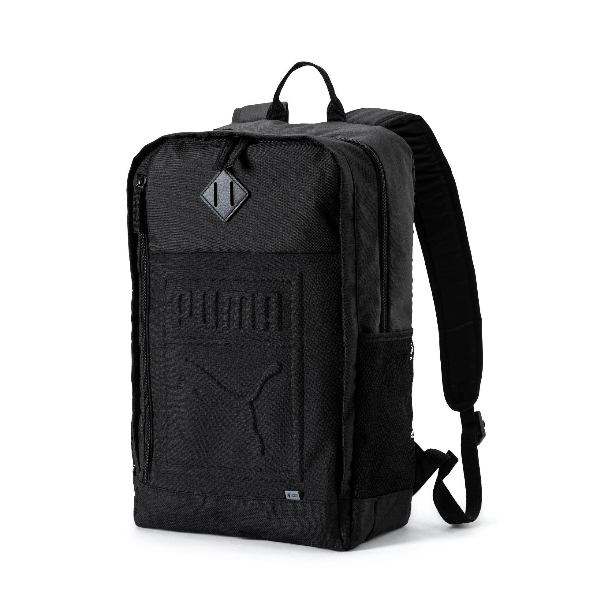 Thumbnail 1 of Square Backpack, Puma Black, medium