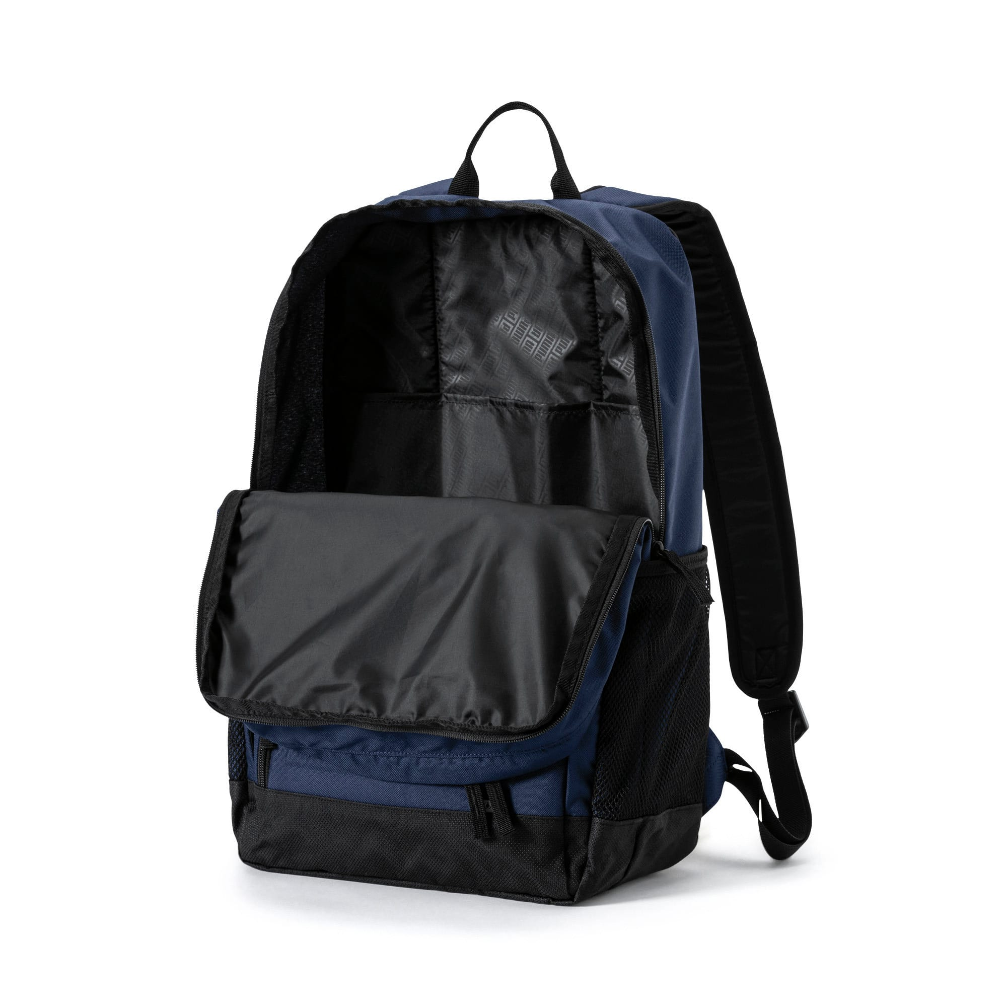 Thumbnail 3 of Square Backpack, Peacoat, medium-IND