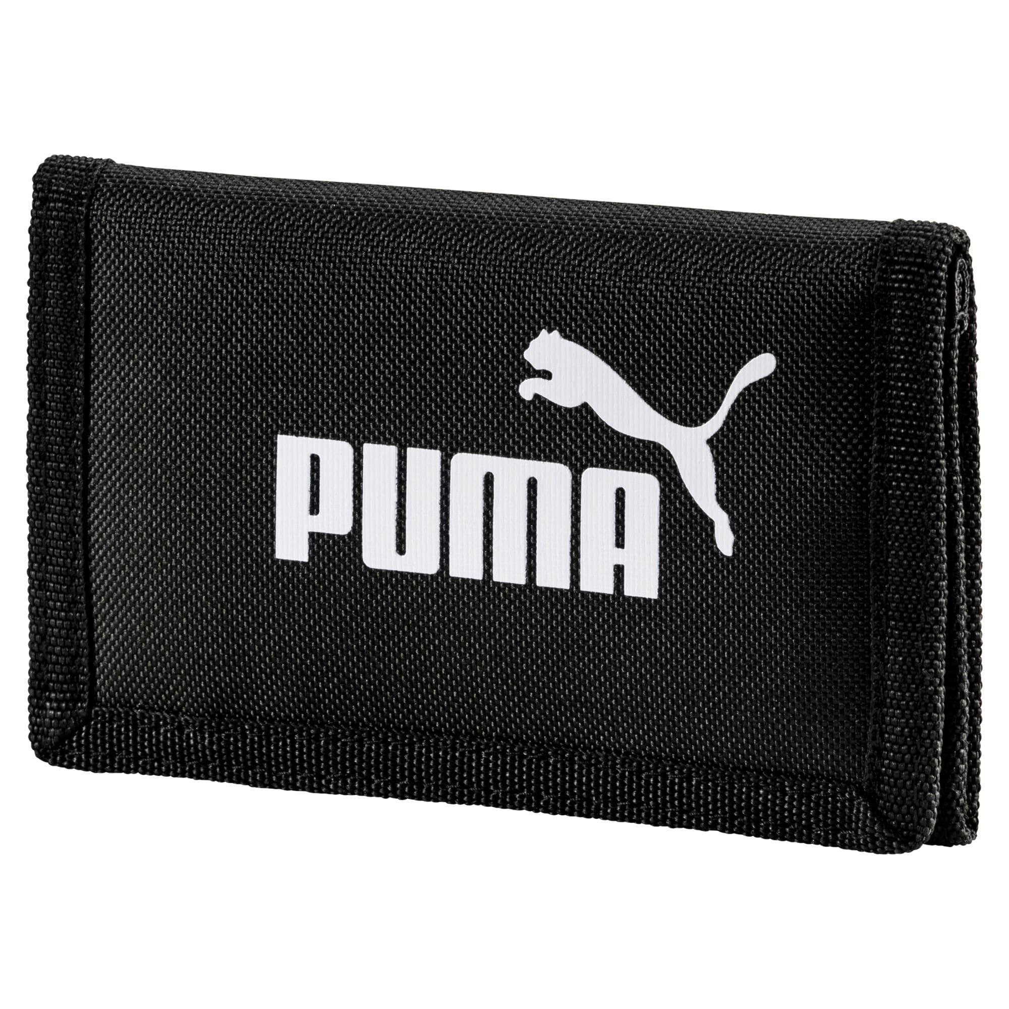 Thumbnail 1 van Geweven PUMA Phase portemonnee, Puma Black, medium